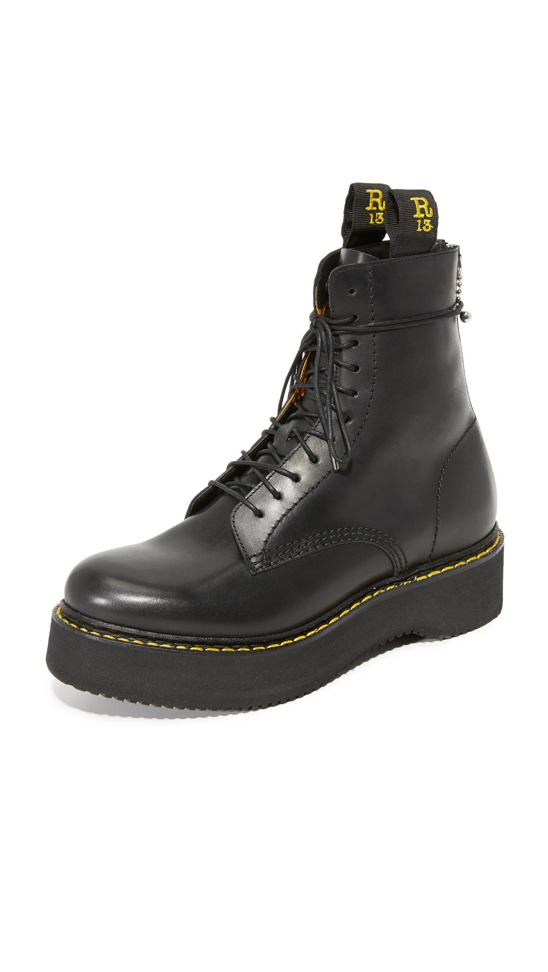 R13 Combat Platform Boots good selling cheap price Fsel5pa