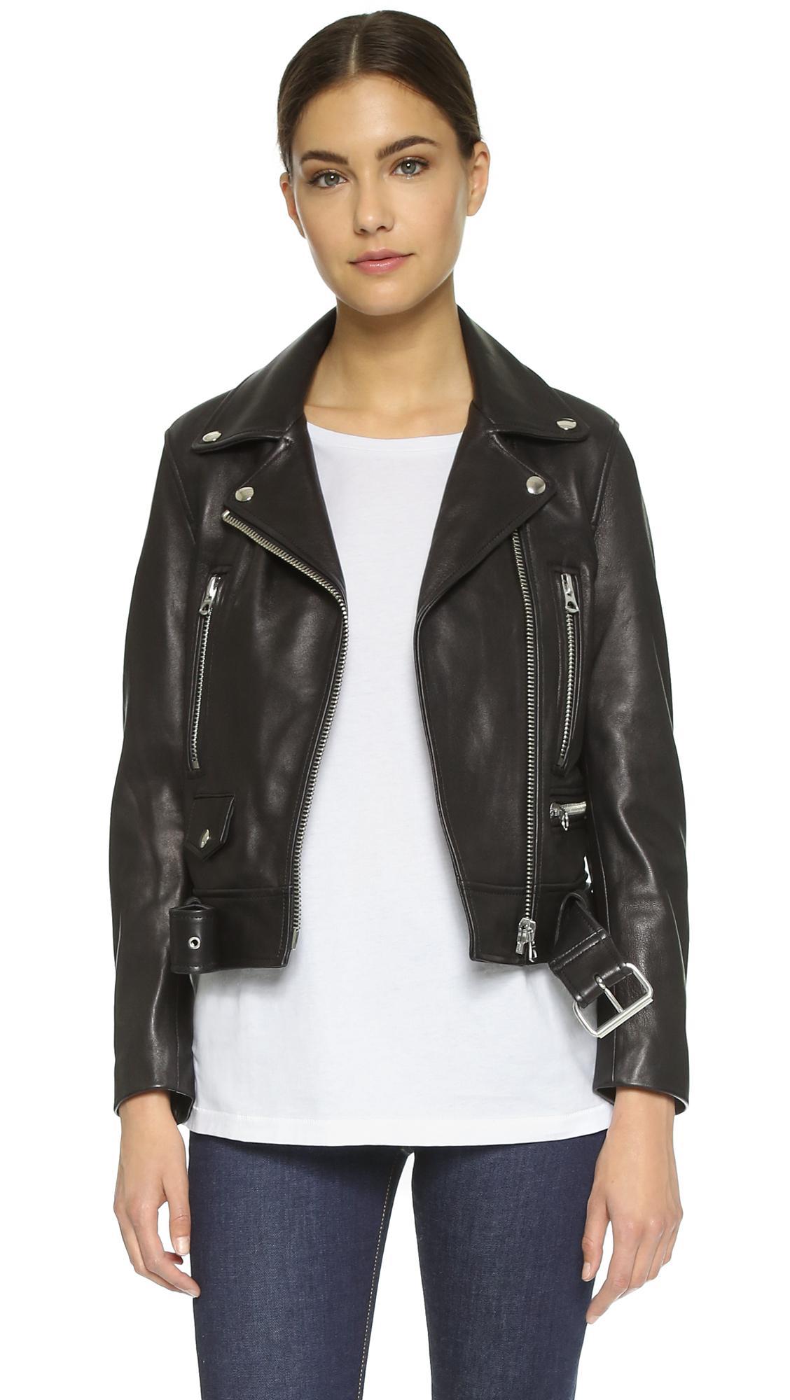 Shopbop leather jacket
