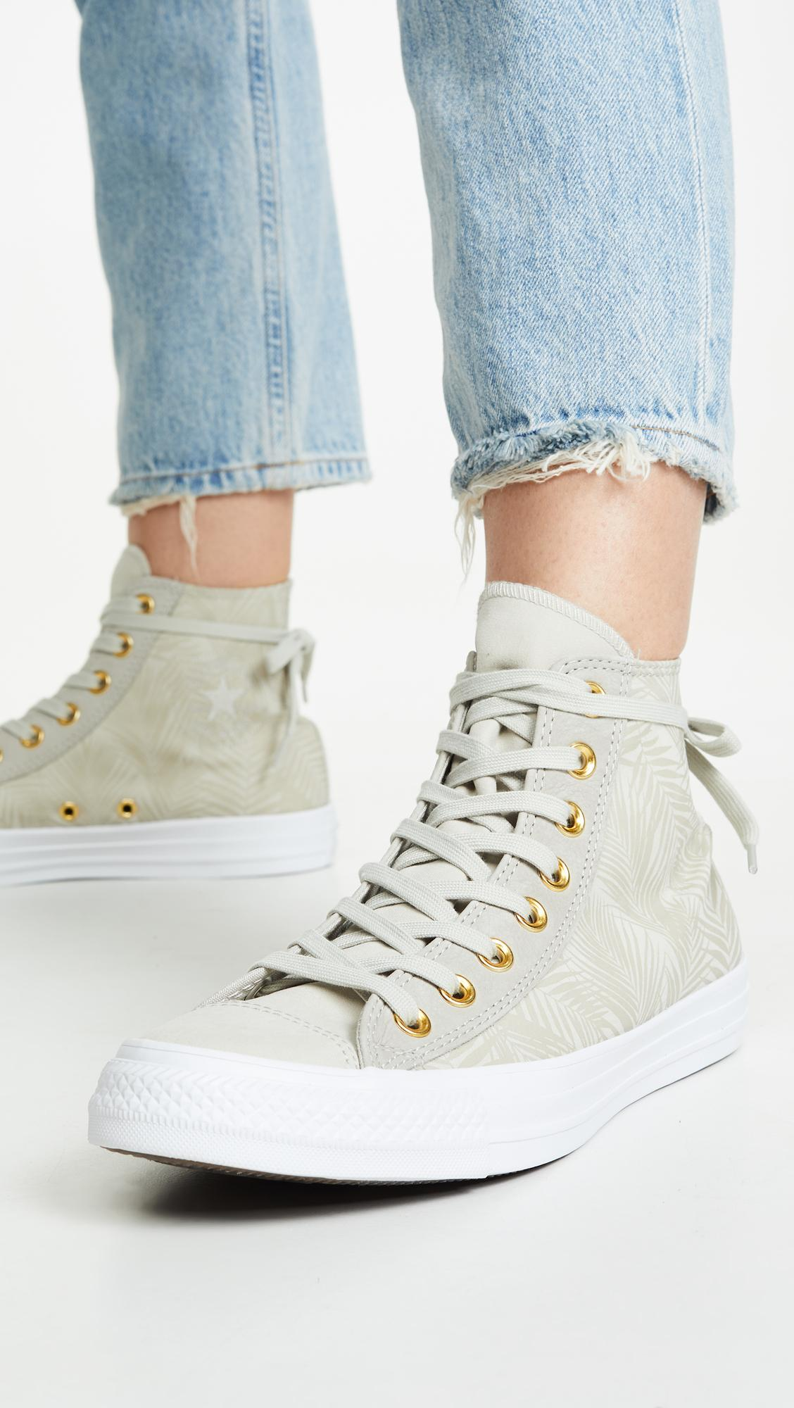 0124732b34e8 Converse - Multicolor Chuck Taylor All Star Summer High Top Palm Sneakers -  Lyst. View fullscreen