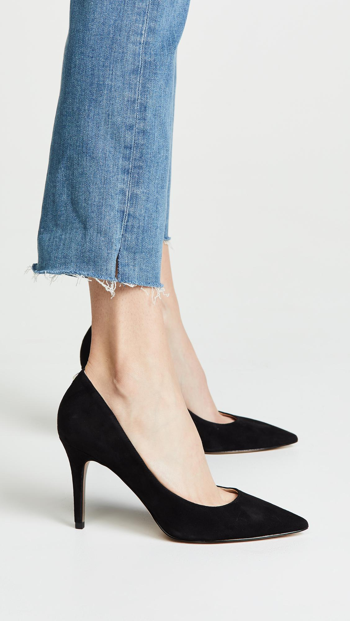 f0ca4758288b Sam Edelman - Black Margie Pumps - Lyst. View fullscreen