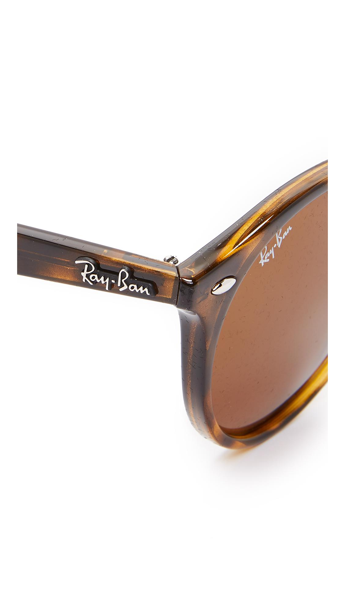 Ray-Ban Round Sunglasses in Brown