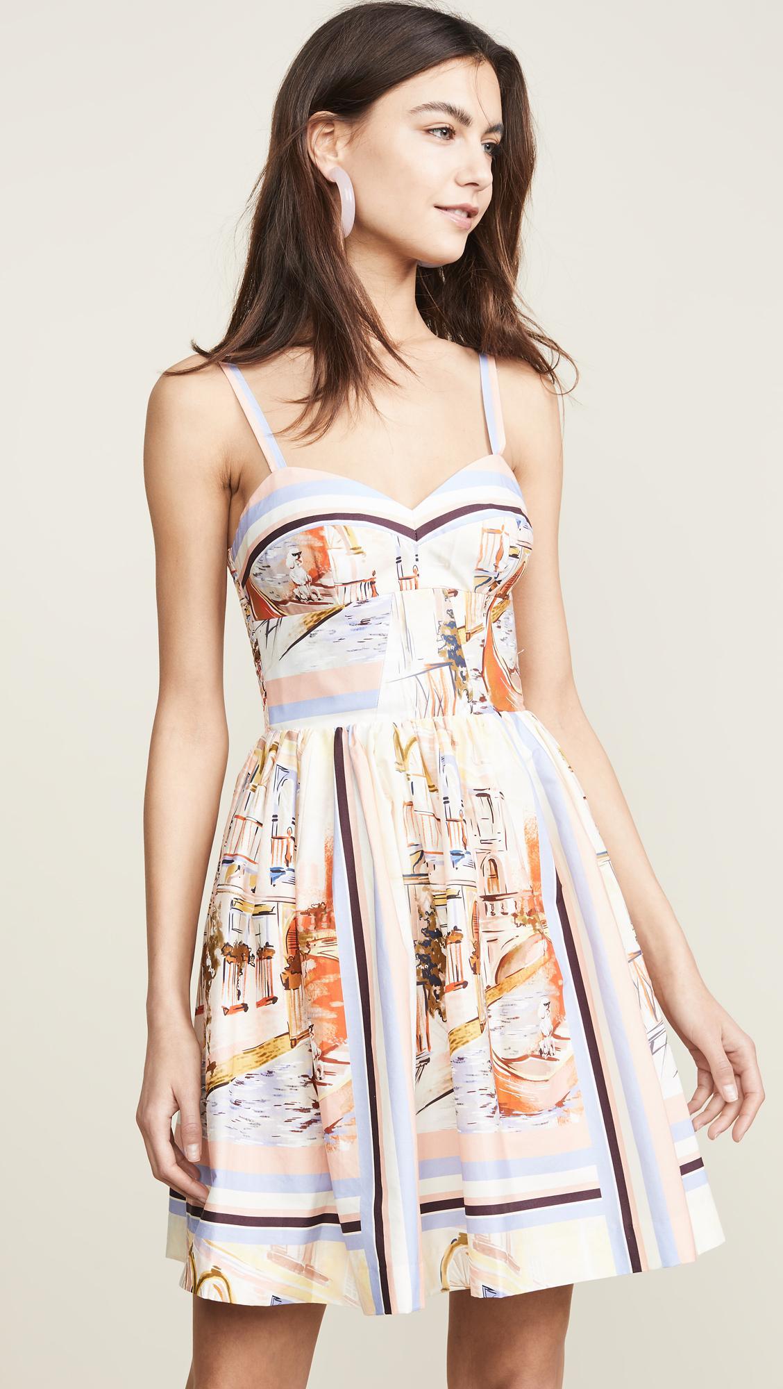 acccceba6fd1 Lyst - Amanda Uprichard Champagne Dress