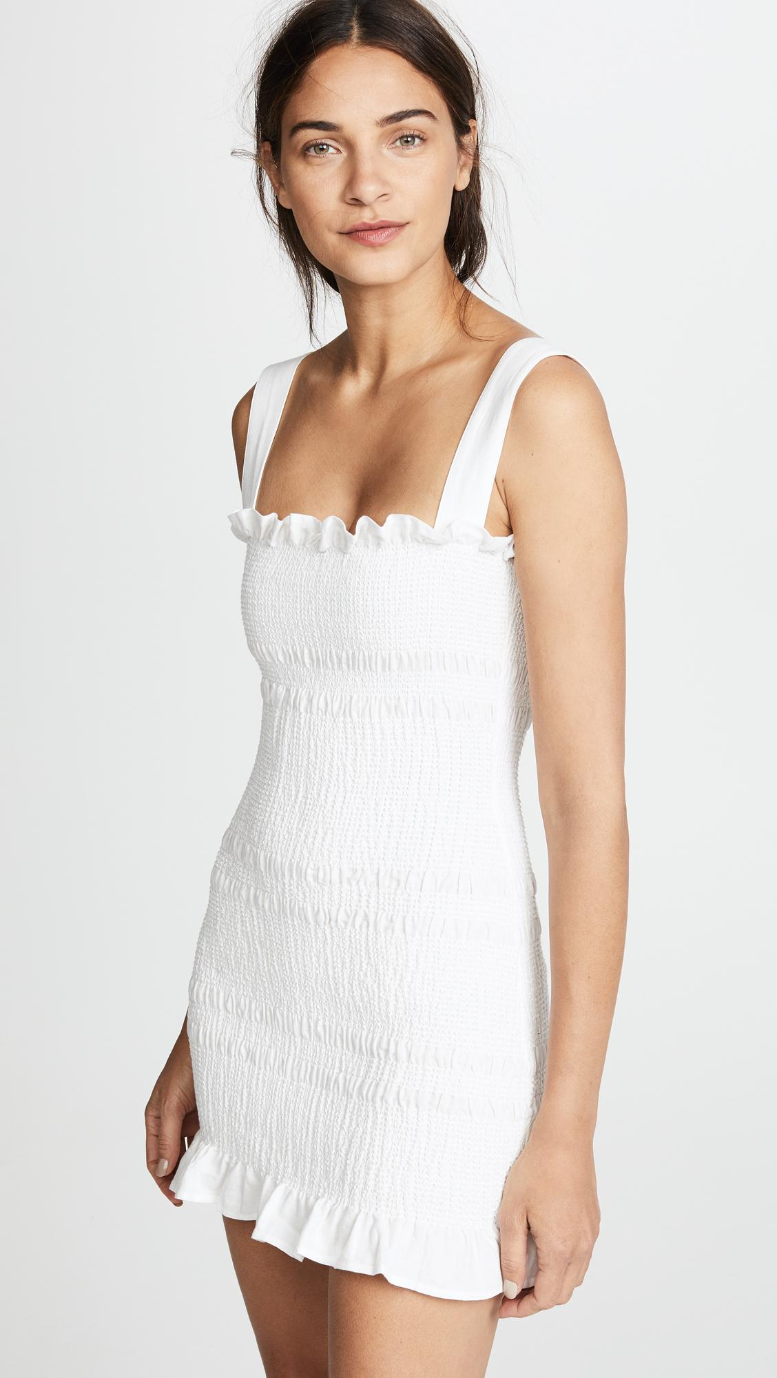 0f725980e598 Gallery. Previously sold at: Shopbop · Women's White Linen Dresses