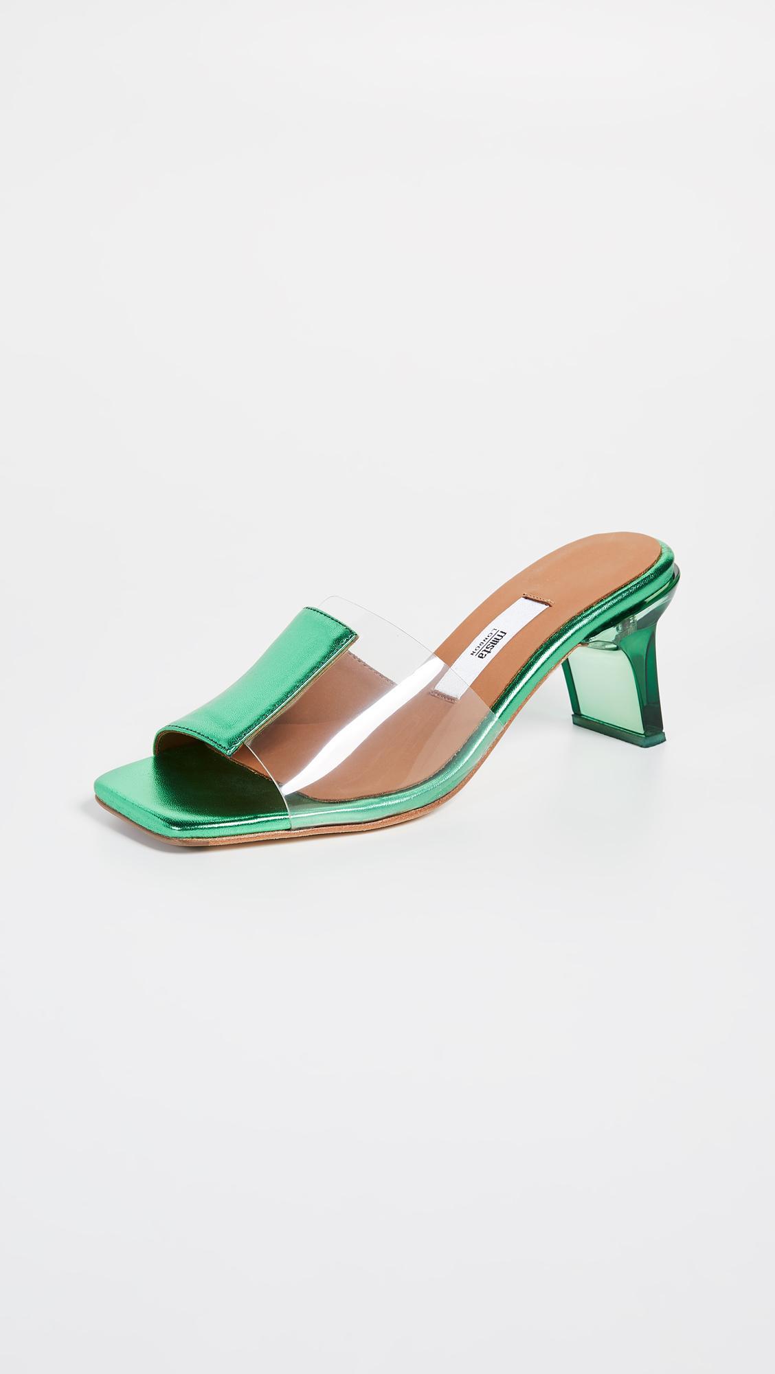 1e8084df6c1 Lyst - Miista Indira Slides in Green