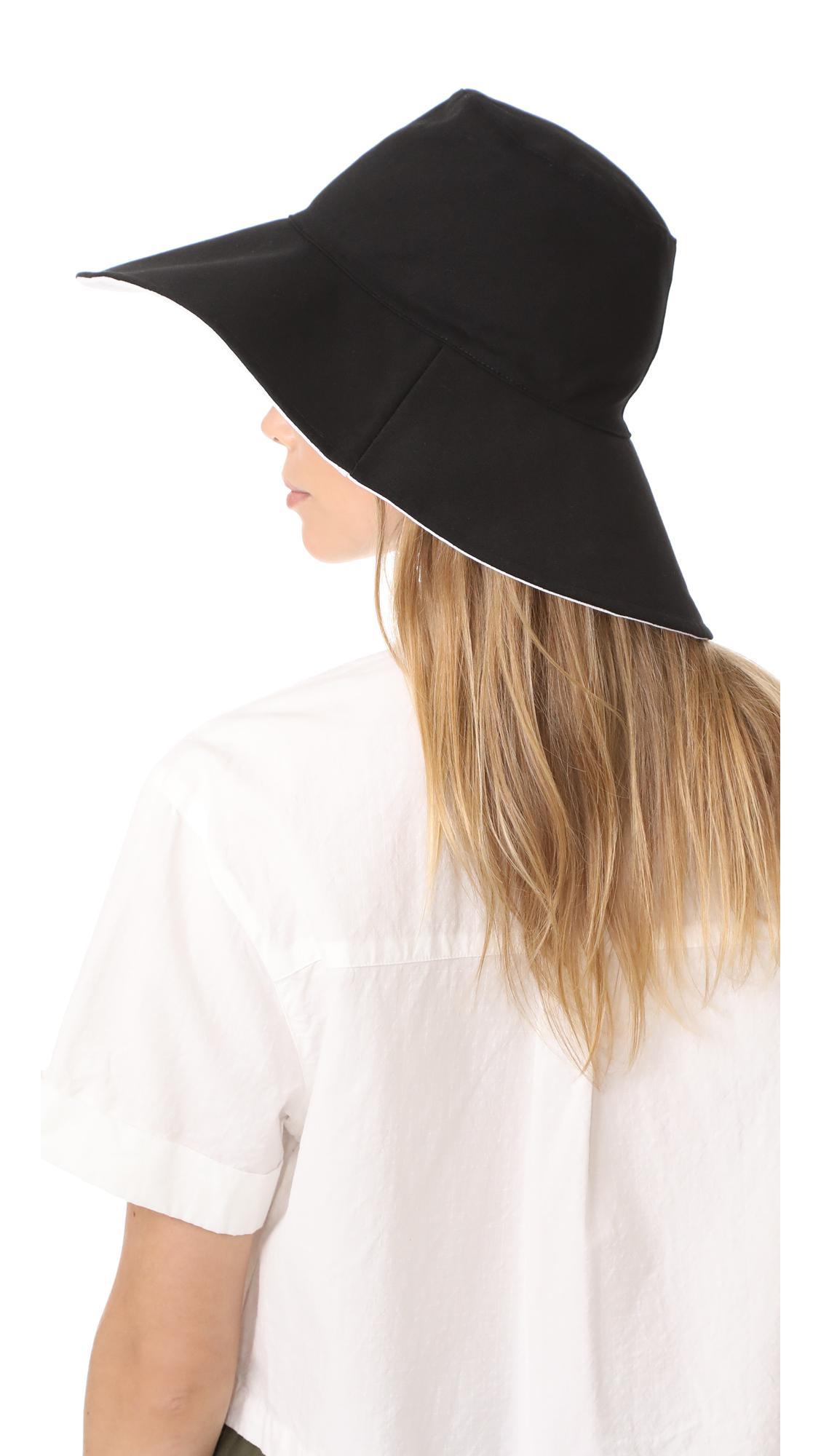 644c3e00ad9 Hat Attack - Multicolor Canvas Reversible Sunhat - Lyst. View fullscreen
