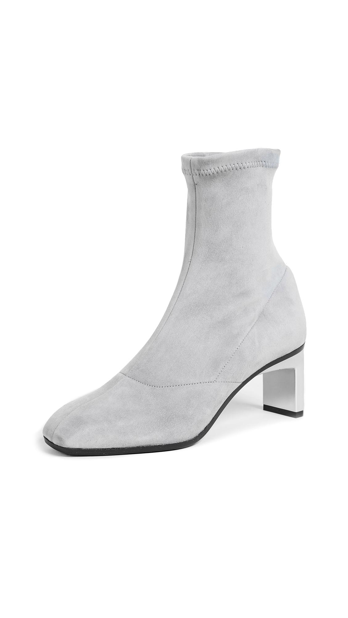 3.1 Phillip Lim Suede Blade Ankle Booties