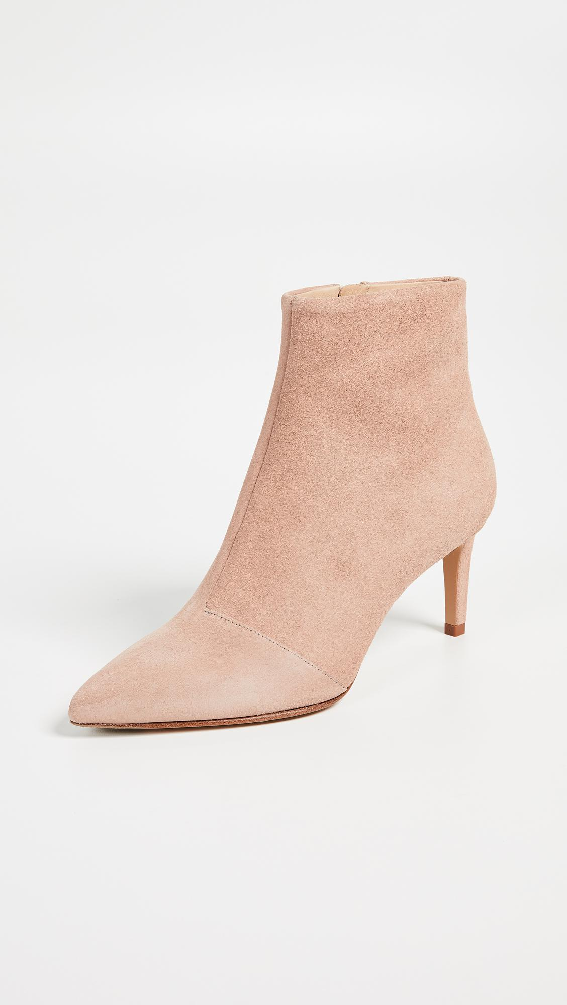Rag & Bone Leather Beha Booties in Nude (Natural)