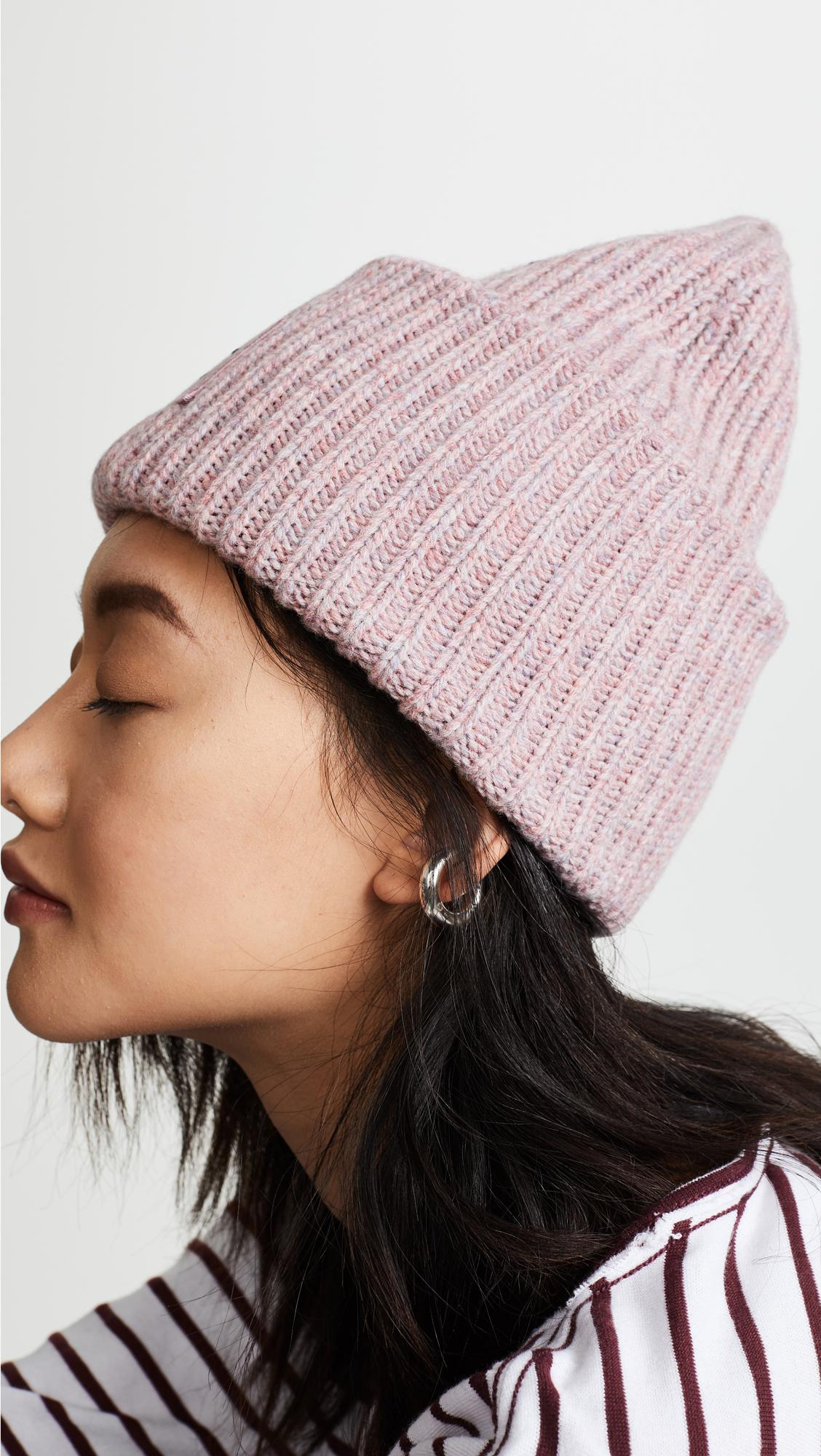 36611f345f7 Lyst - Acne Studios Pansy With Face Hat in Pink