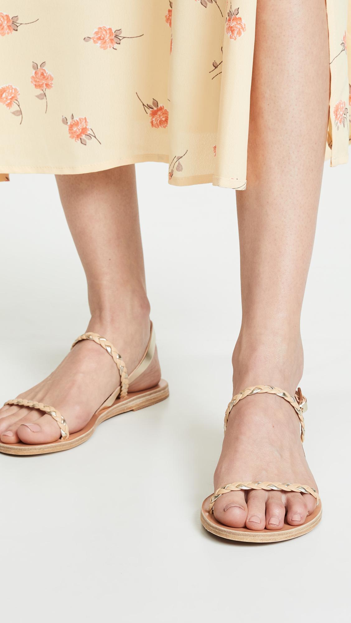 bca8202c73dc03 Ancient Greek Sandals - Multicolor Irida Braids Sandals - Lyst. View  fullscreen