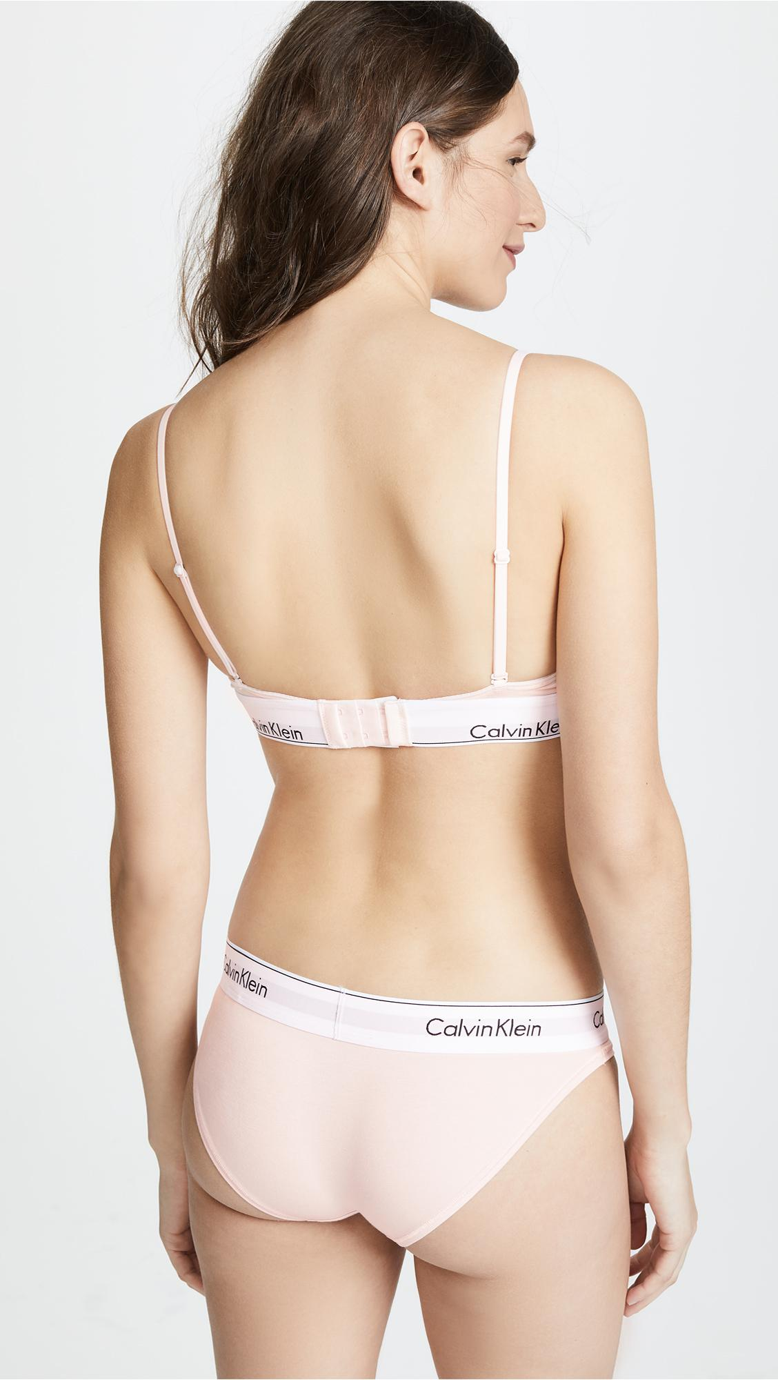 a4e2306fd35 Calvin Klein - Natural Modern Cotton - Lyst. View fullscreen