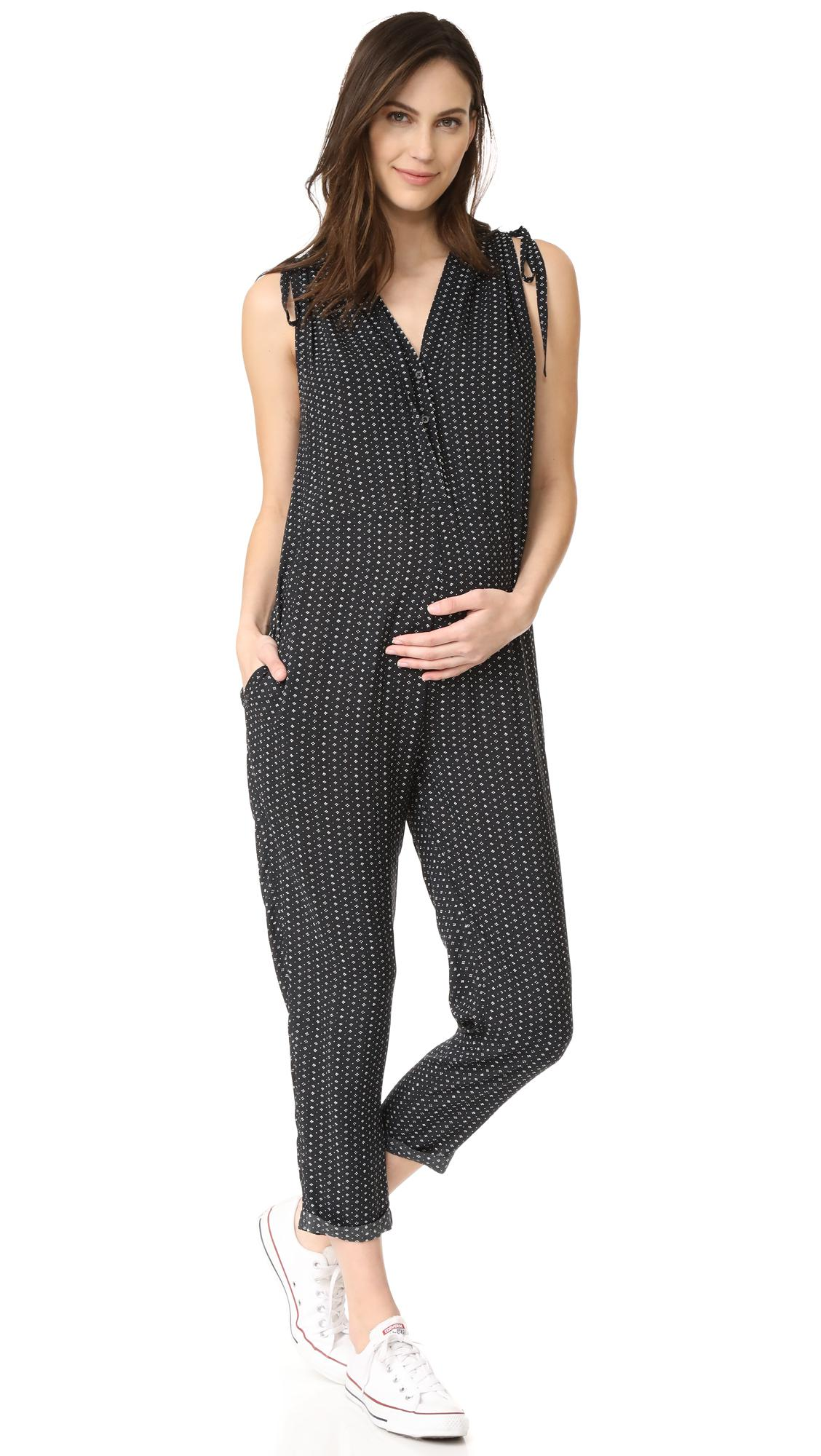 68f1af53be9 Lyst - HATCH The Twilight Jumpsuit in Black