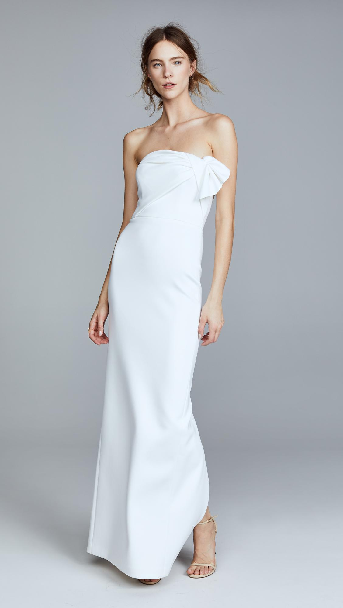 Lyst - Black Halo Divina Gown