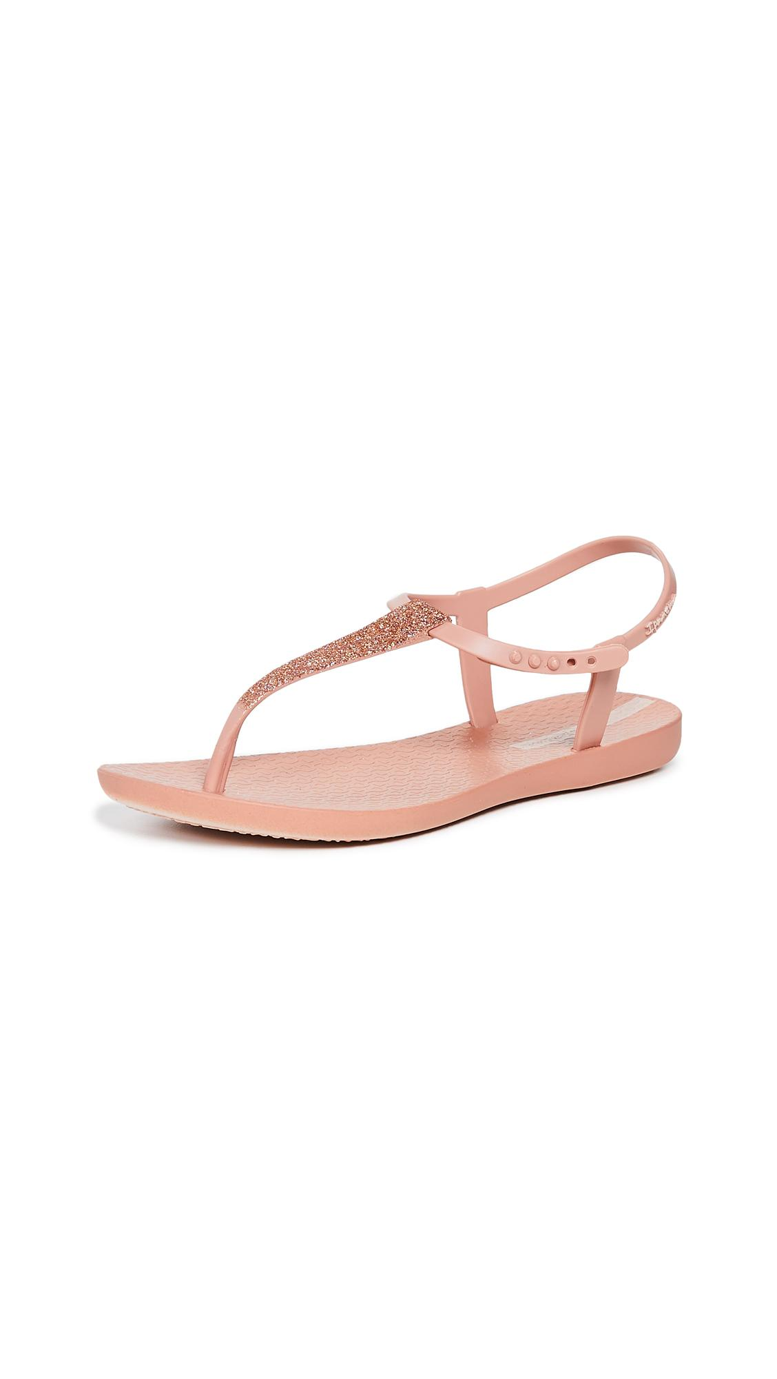 875cac0bf2fbd Ipanema Shimmer T-strap Sandals in Pink - Lyst