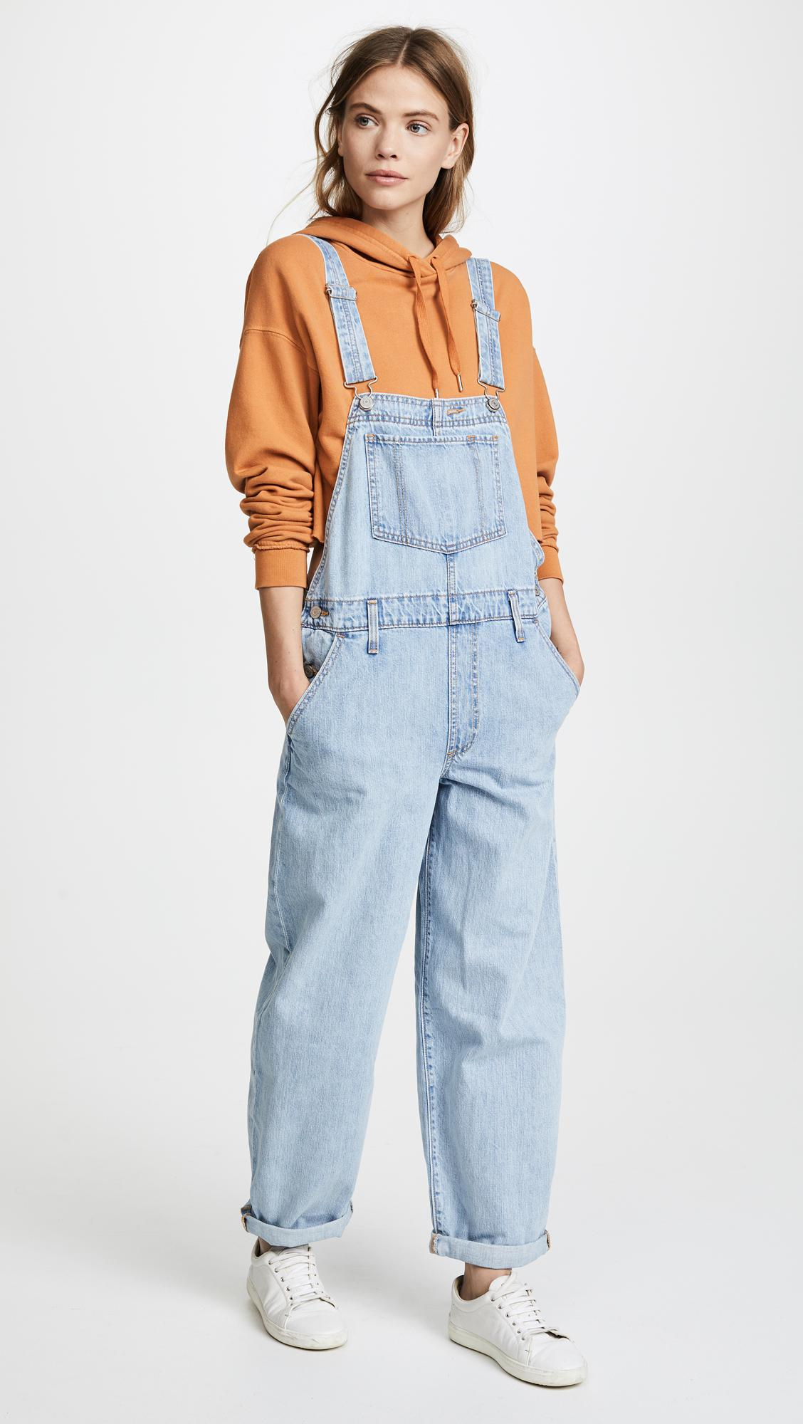 068ac6ea6e3c Levi s Baggy Overalls in Blue - Lyst