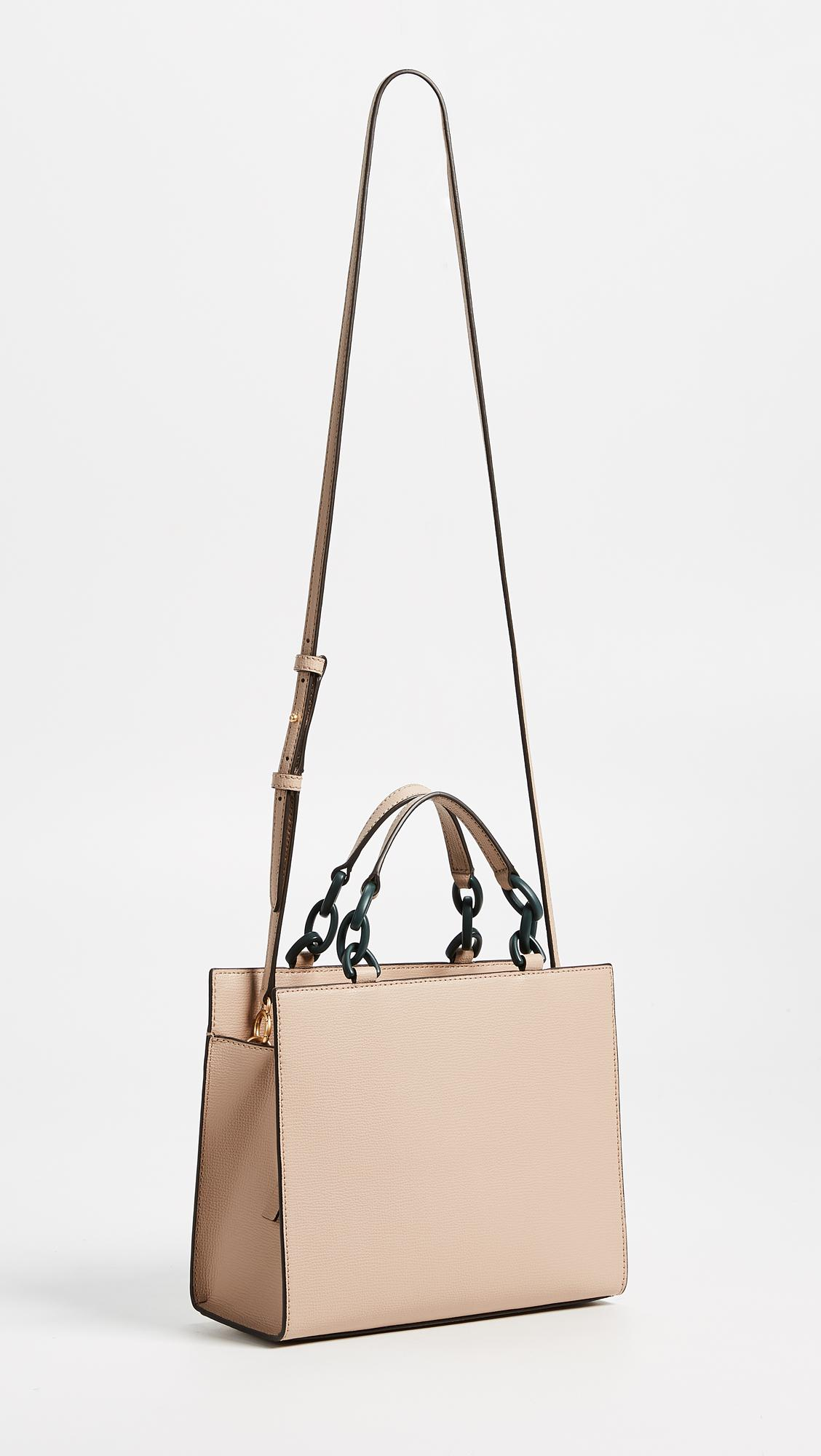 db2b6581cca6 Lyst - Tory Burch Kira Small Tote in Natural