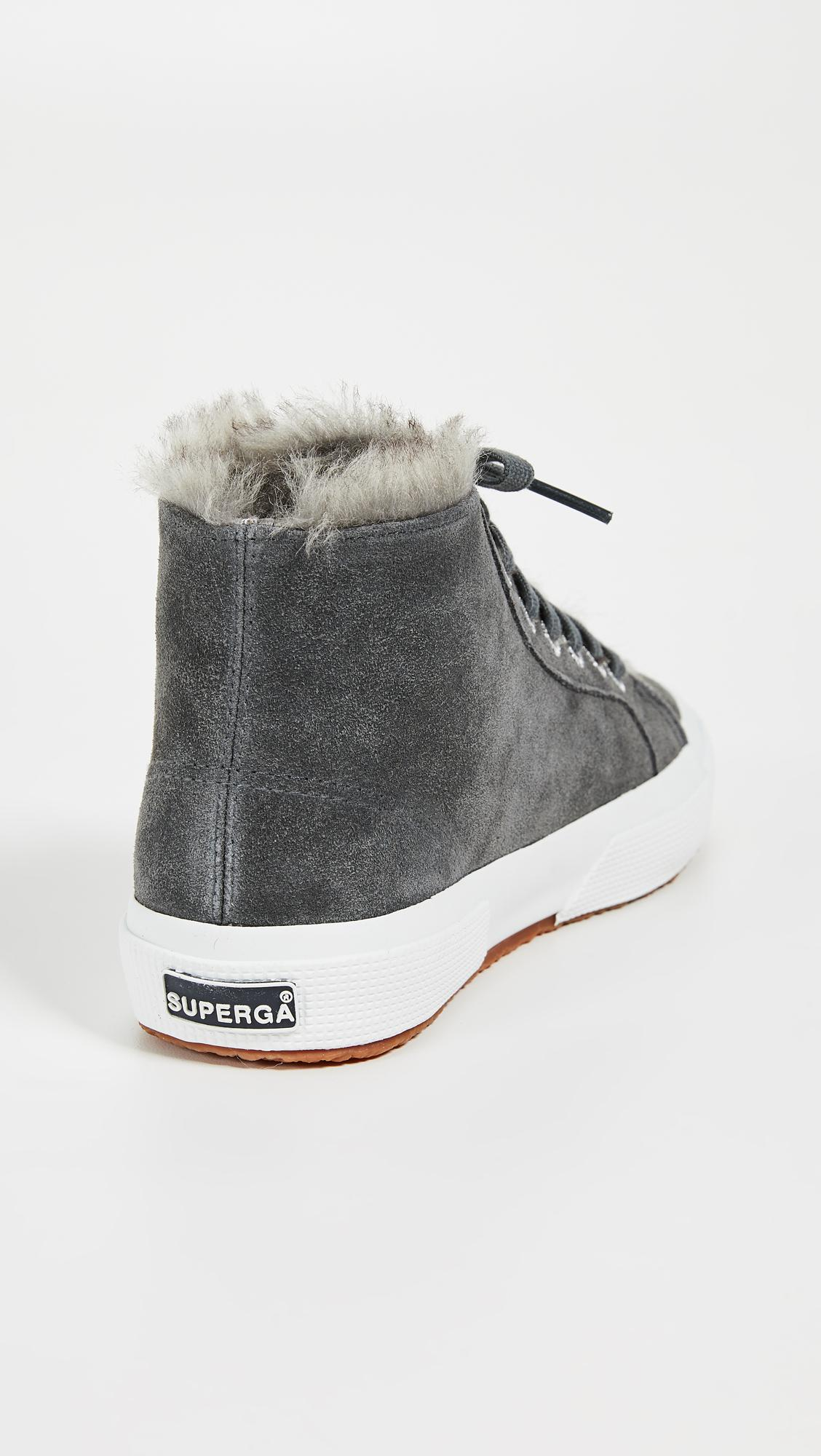 Superga 2795 Faux Fur Lined Sneakers in