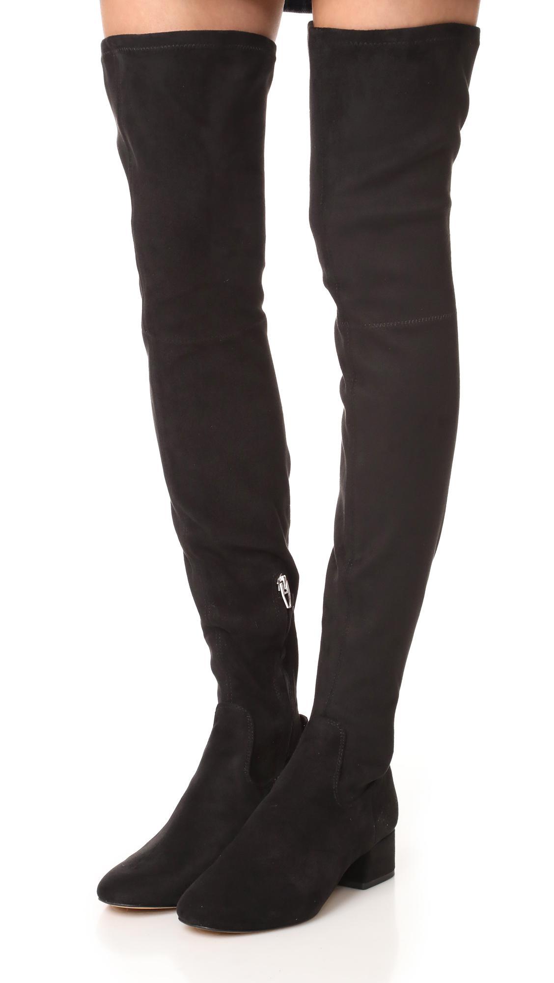c3da6af9b30 Lyst - Dolce Vita Jimmy Over The Knee Boots in Black