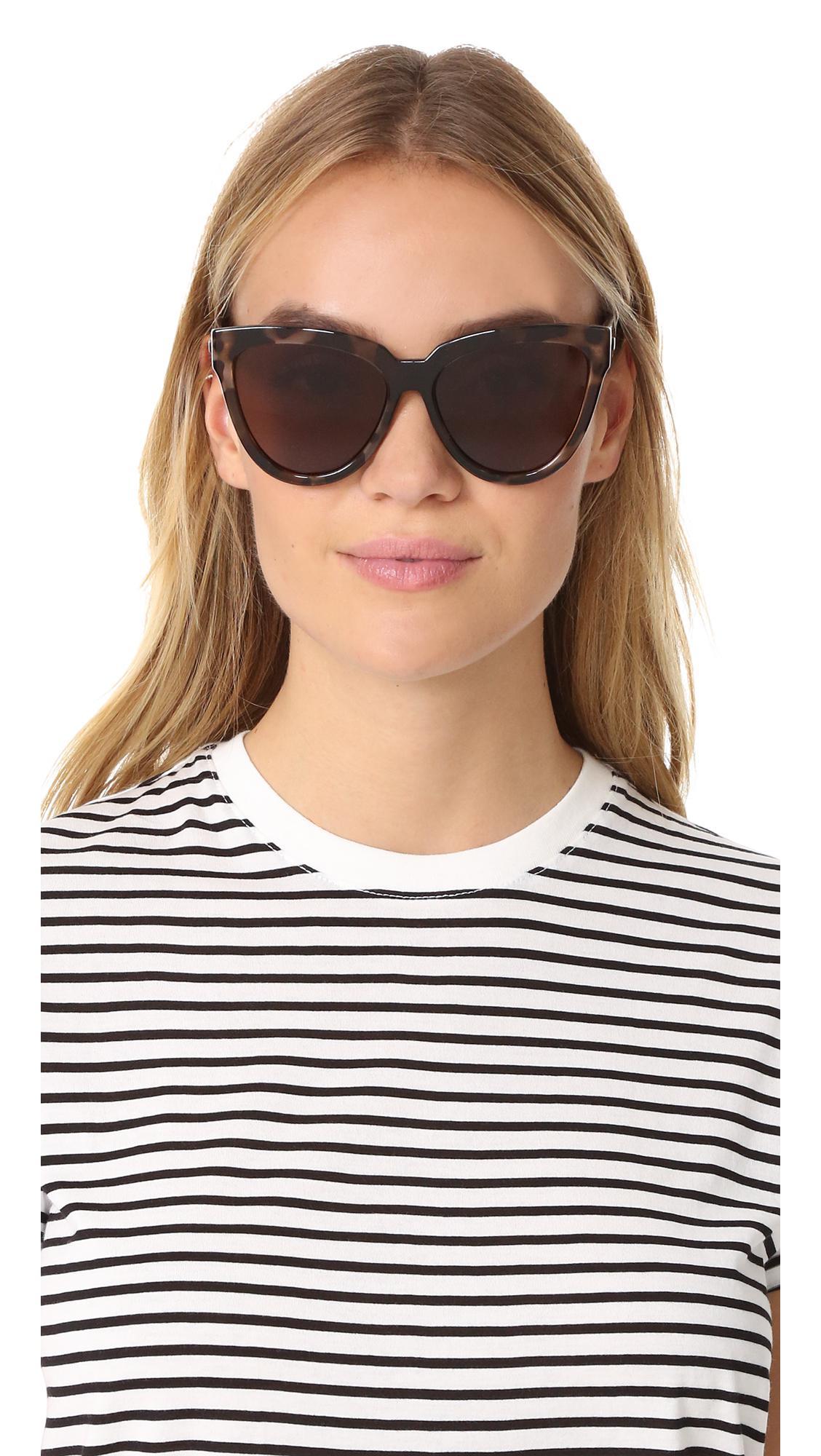 2713038dae Le Specs - Brown Liar Liar Sunglasses - Lyst. View fullscreen
