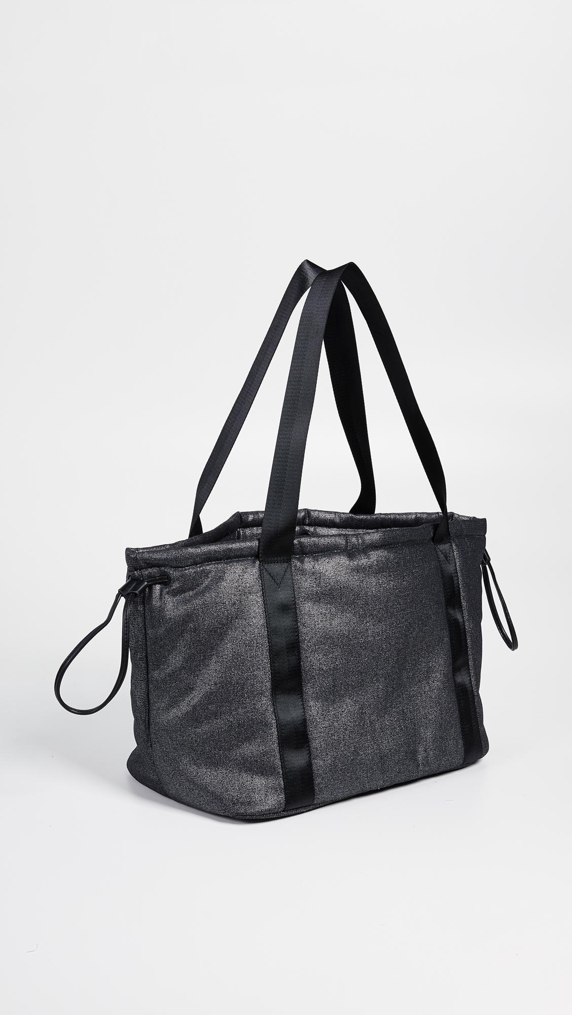 Kendall + Kylie Blake Tote Bag in Black Metallic (Black)