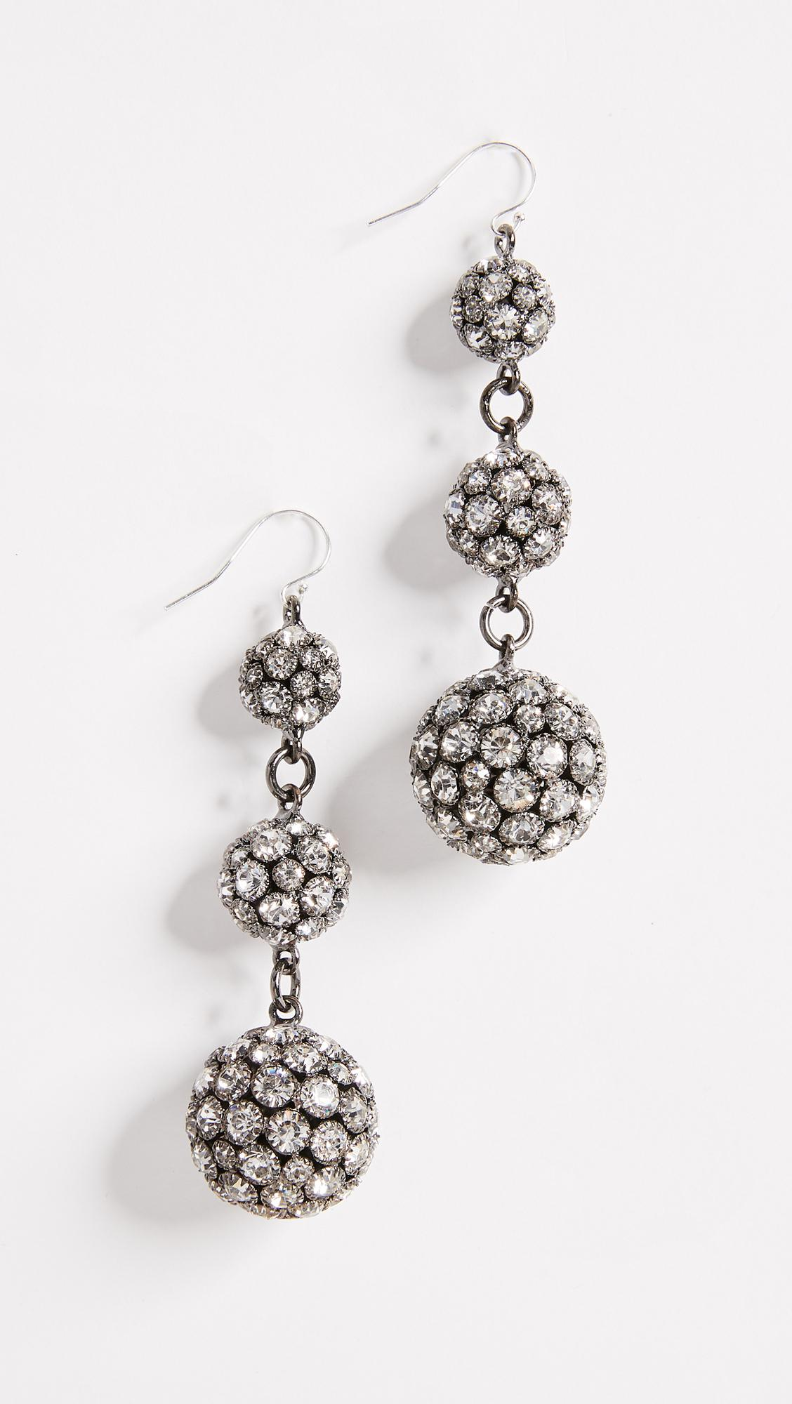 Lulu Frost Laumiere Drop Earrings w/ Crystals cvvVk7ipc