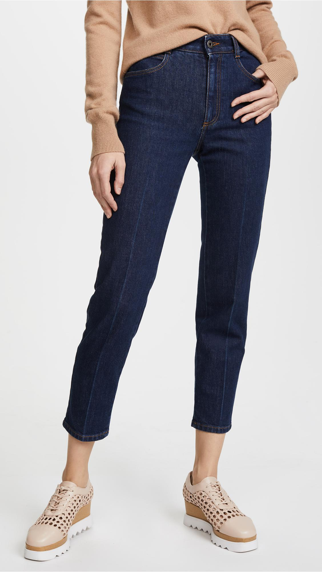 high-waisted slim jeans - Blue Stella McCartney Footlocker Pictures From China Cheap Online Best Place New Lower Prices Discount Fake a1PukG
