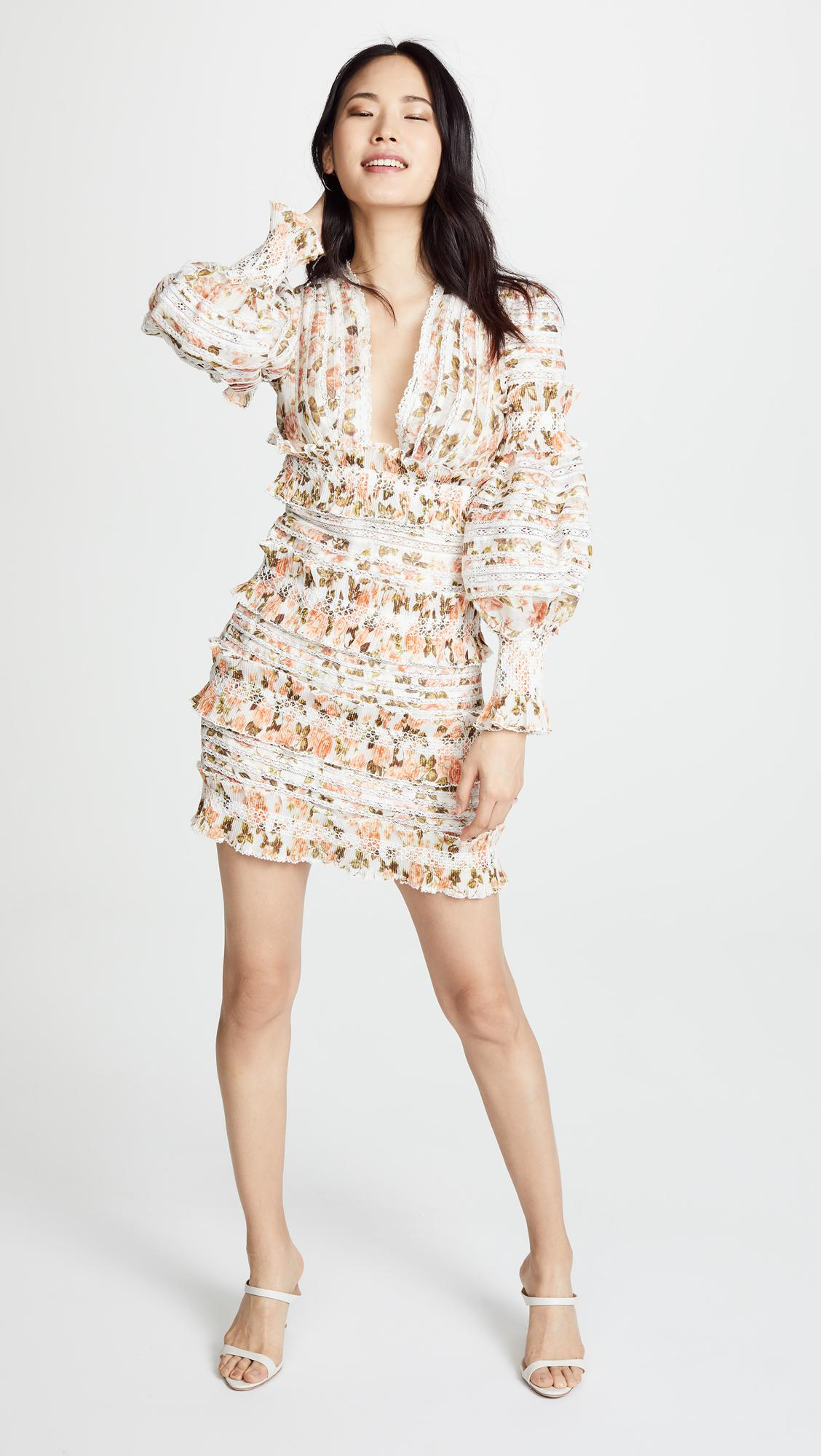 8af7b0962e2 Lyst - Zimmermann Radiate Smocked Mini Dress
