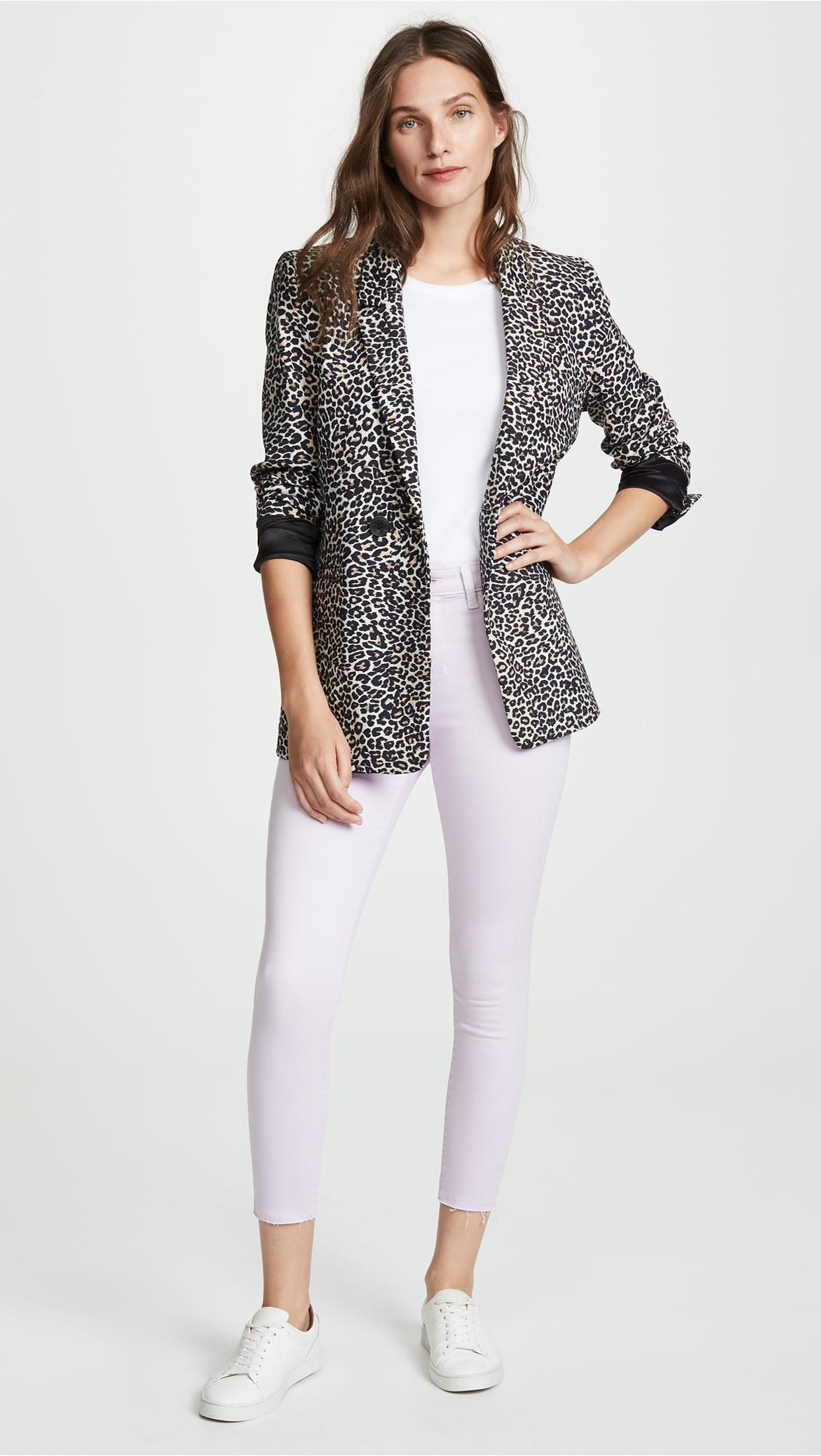 L'Agence Denim Margot High Rise Skinny Jeans