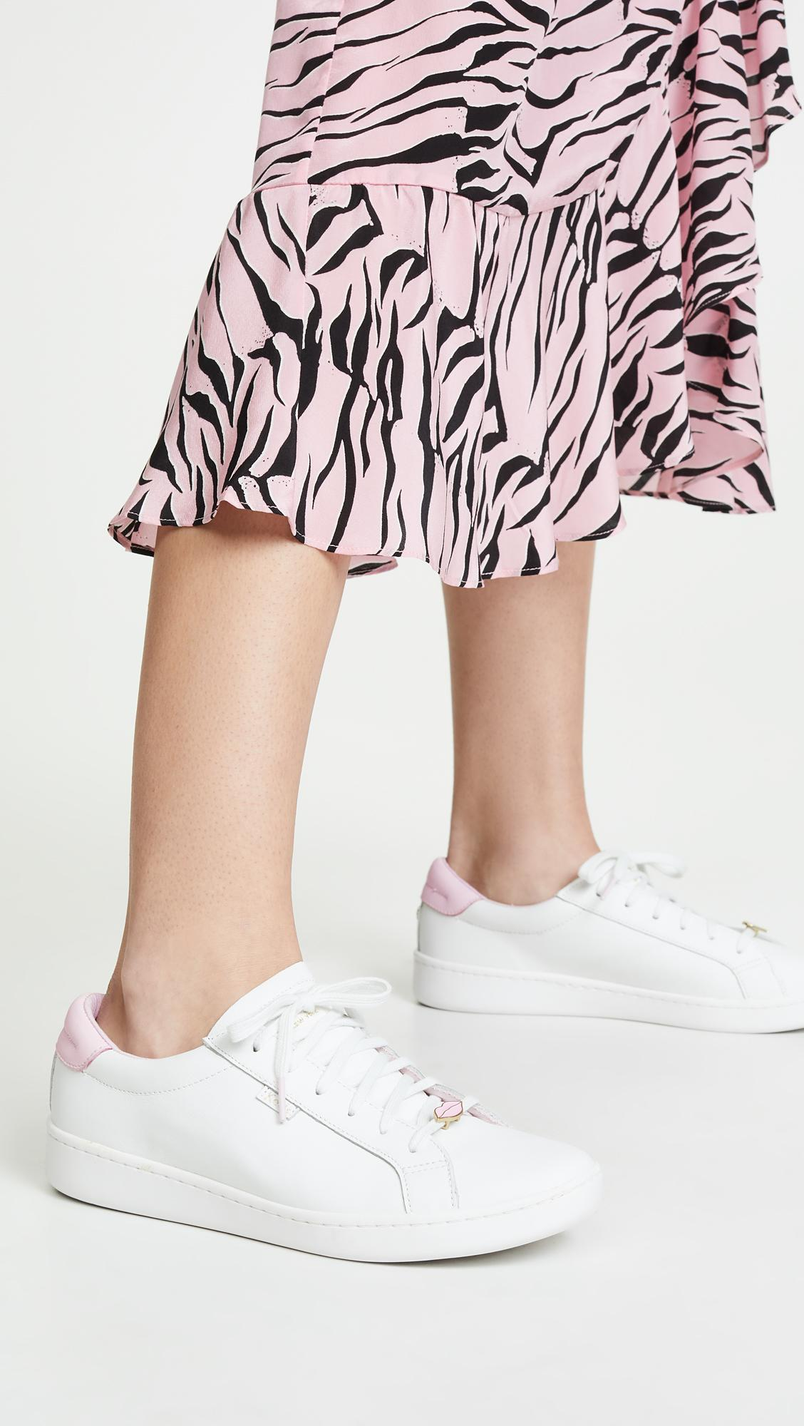 dff4183ec2934 Keds - White X Kate Spade Ace Lips hearts Sneakers - Lyst. View fullscreen