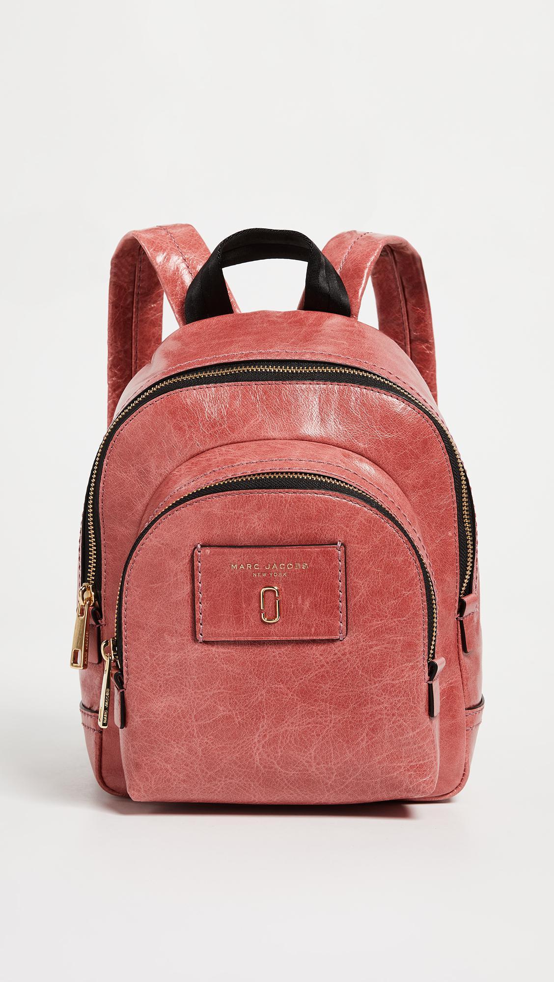 Pink Mini Double Backpack Marc Jacobs 3jEYxXeZo
