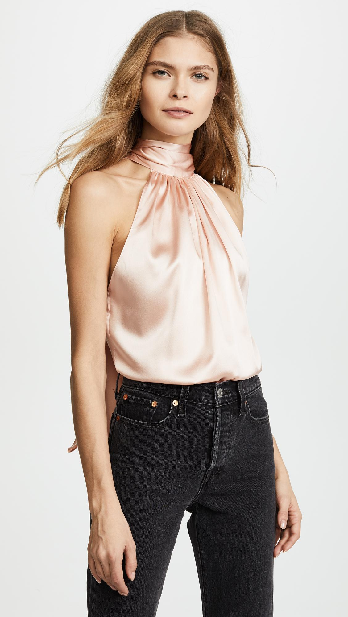 f1eb70c9dbd5ca Ramy Brook Paige Top in Pink - Lyst