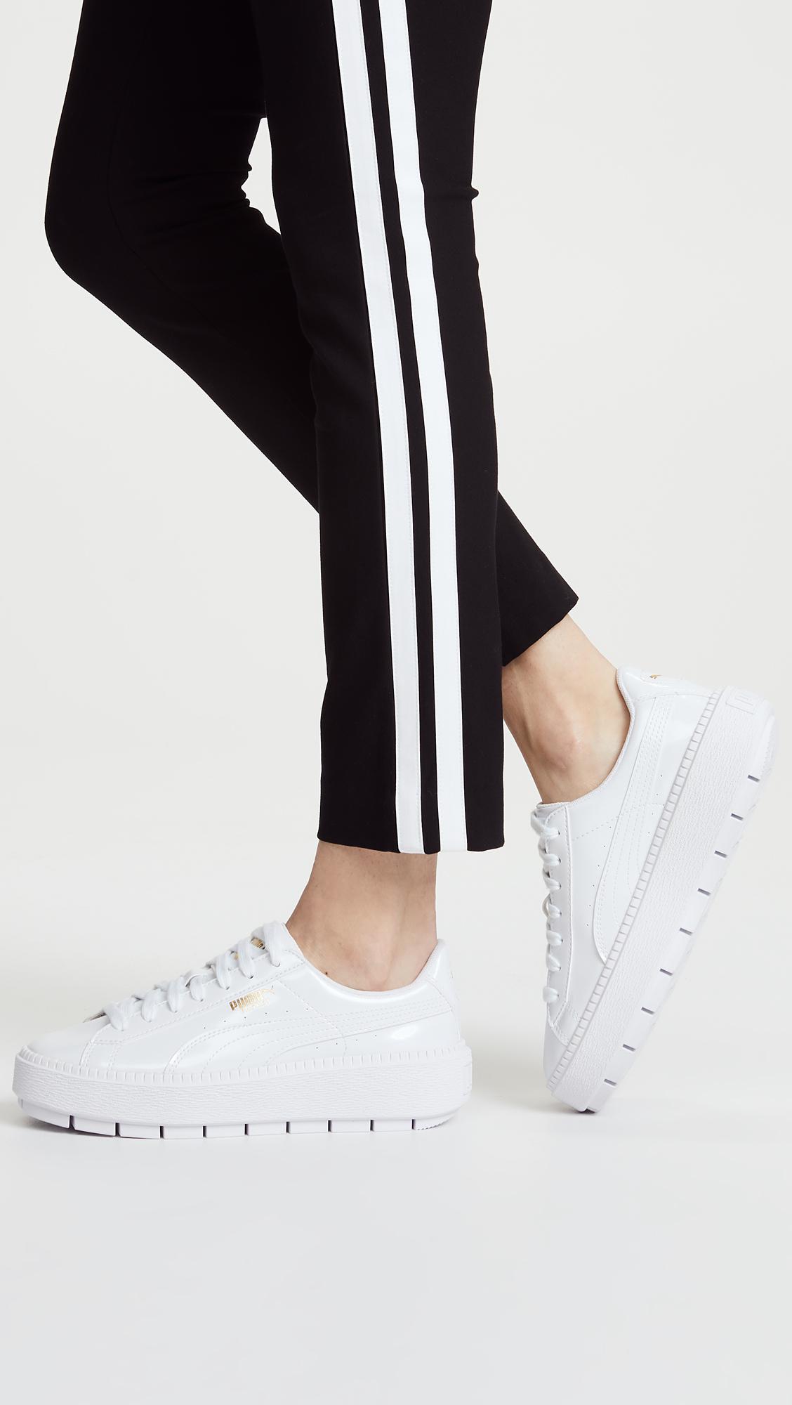 puma basket platform trace sneaker