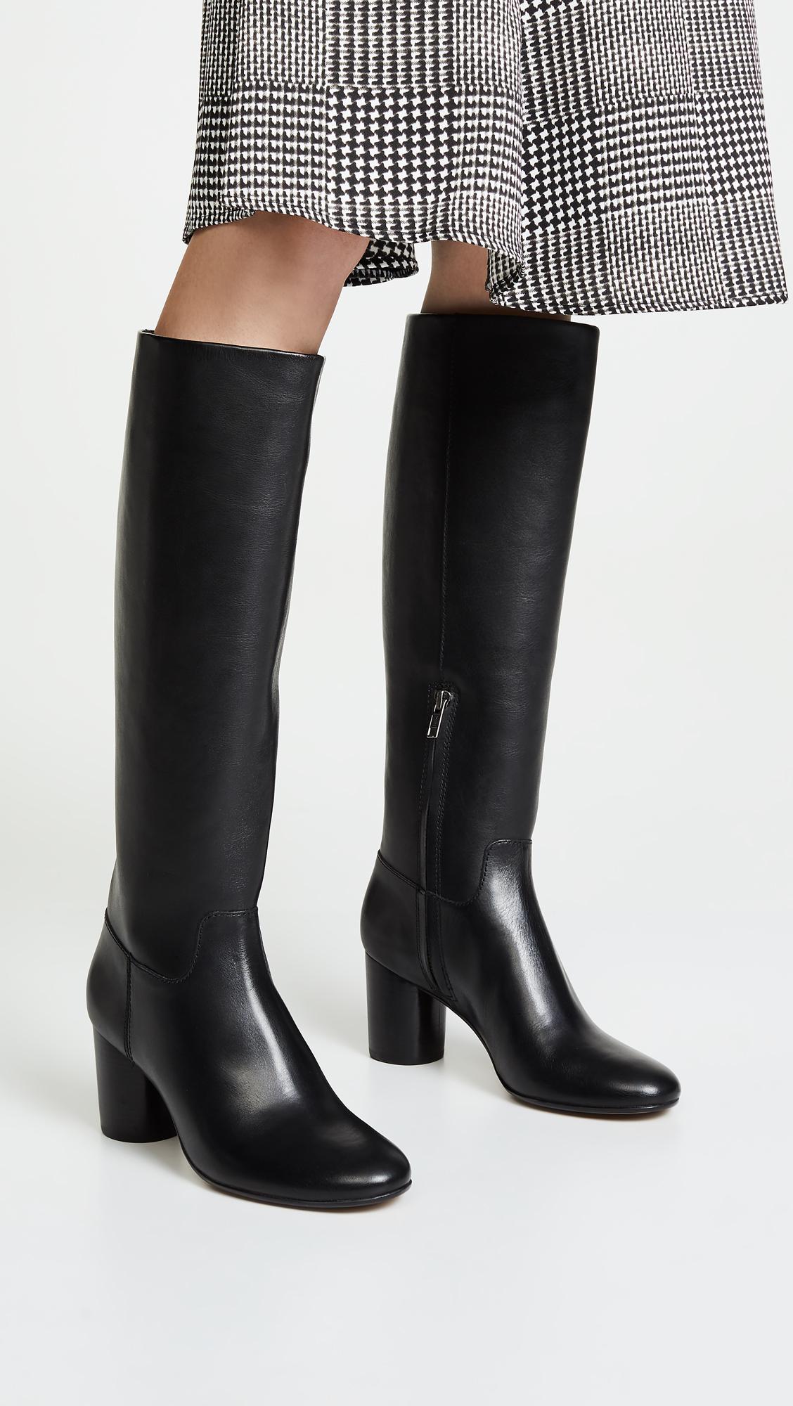 9c8e01a5ff2 Madewell - Black The Scarlett Tall Boots - Lyst. View fullscreen