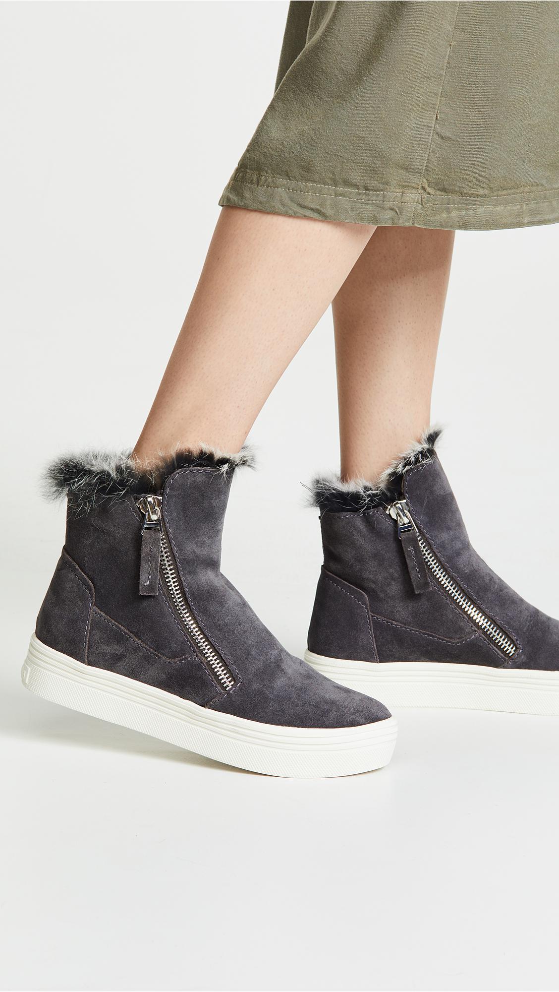 Dolce Vita Fur Tulli Sneakers - Lyst