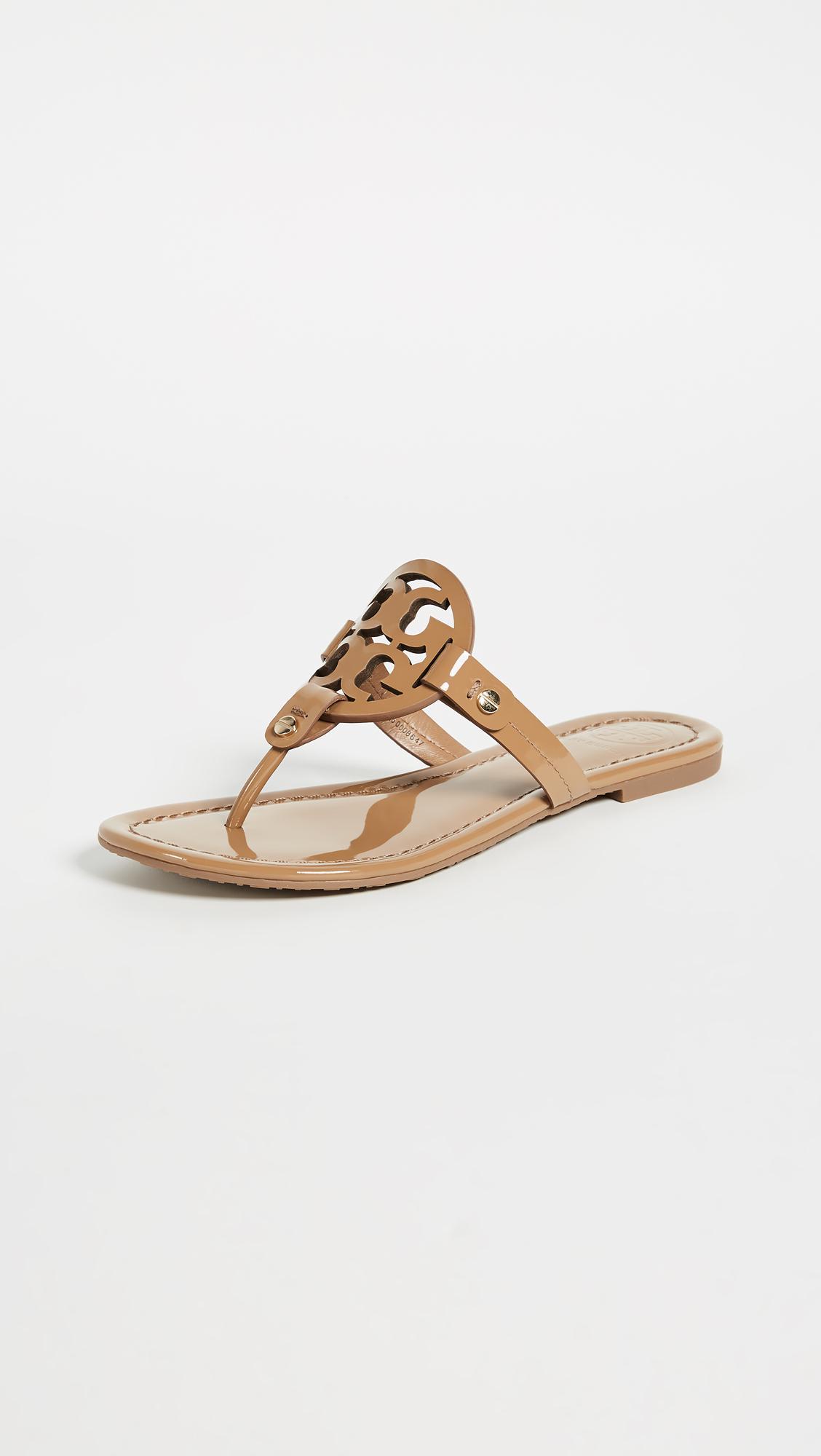 0a36b6a0619d0 Tory Burch - Black Miller Sandals