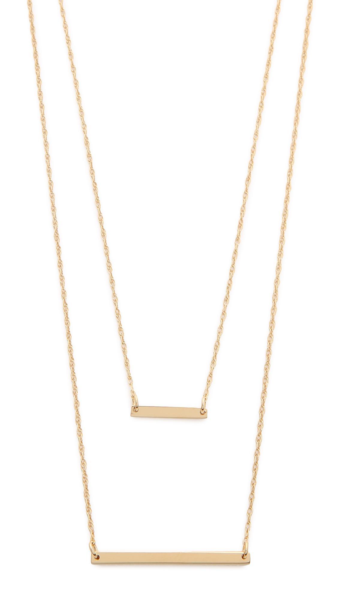 Jennifer Zeuner Luz Trillion-Cut White Sapphire Necklace 6nu0LOwgT