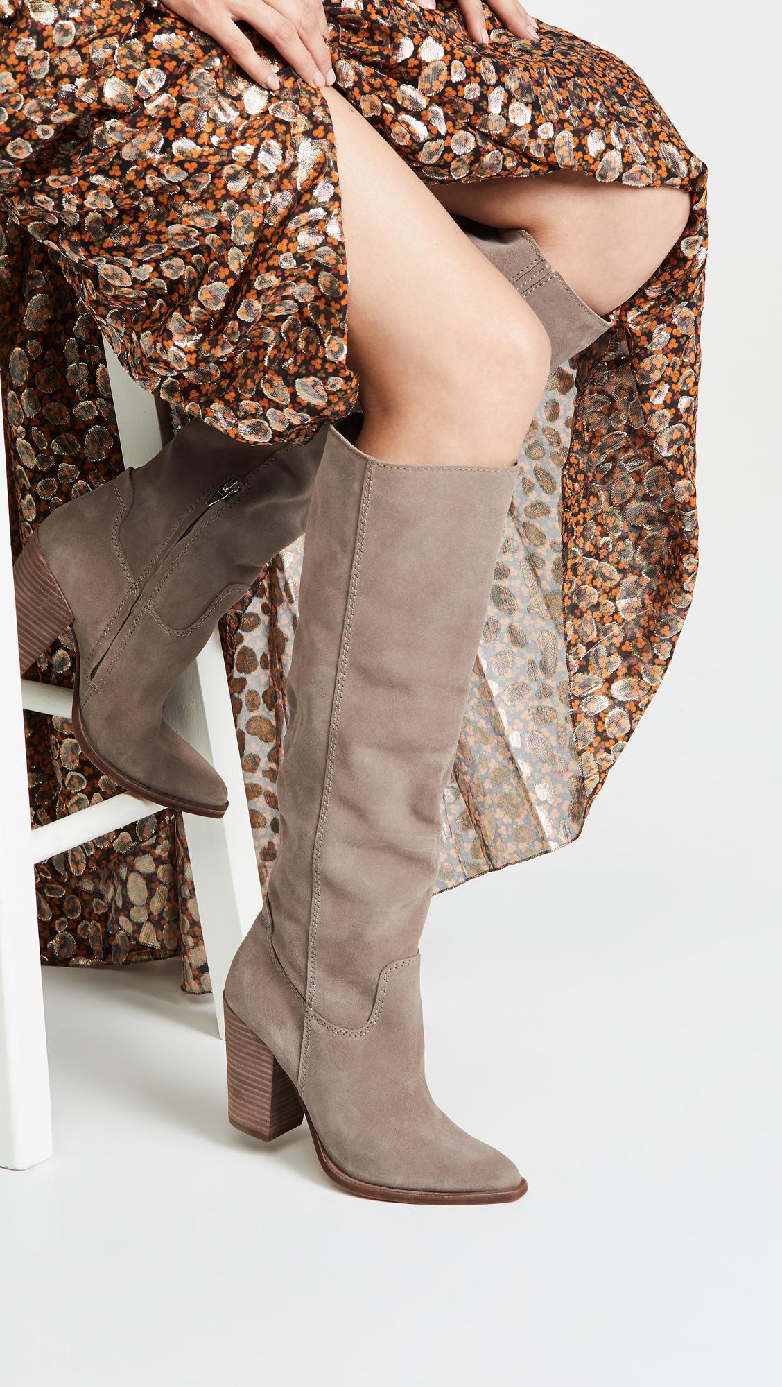6a8dfe03cdb Dolce Vita - Brown Kylar Tall Boots - Lyst. View fullscreen