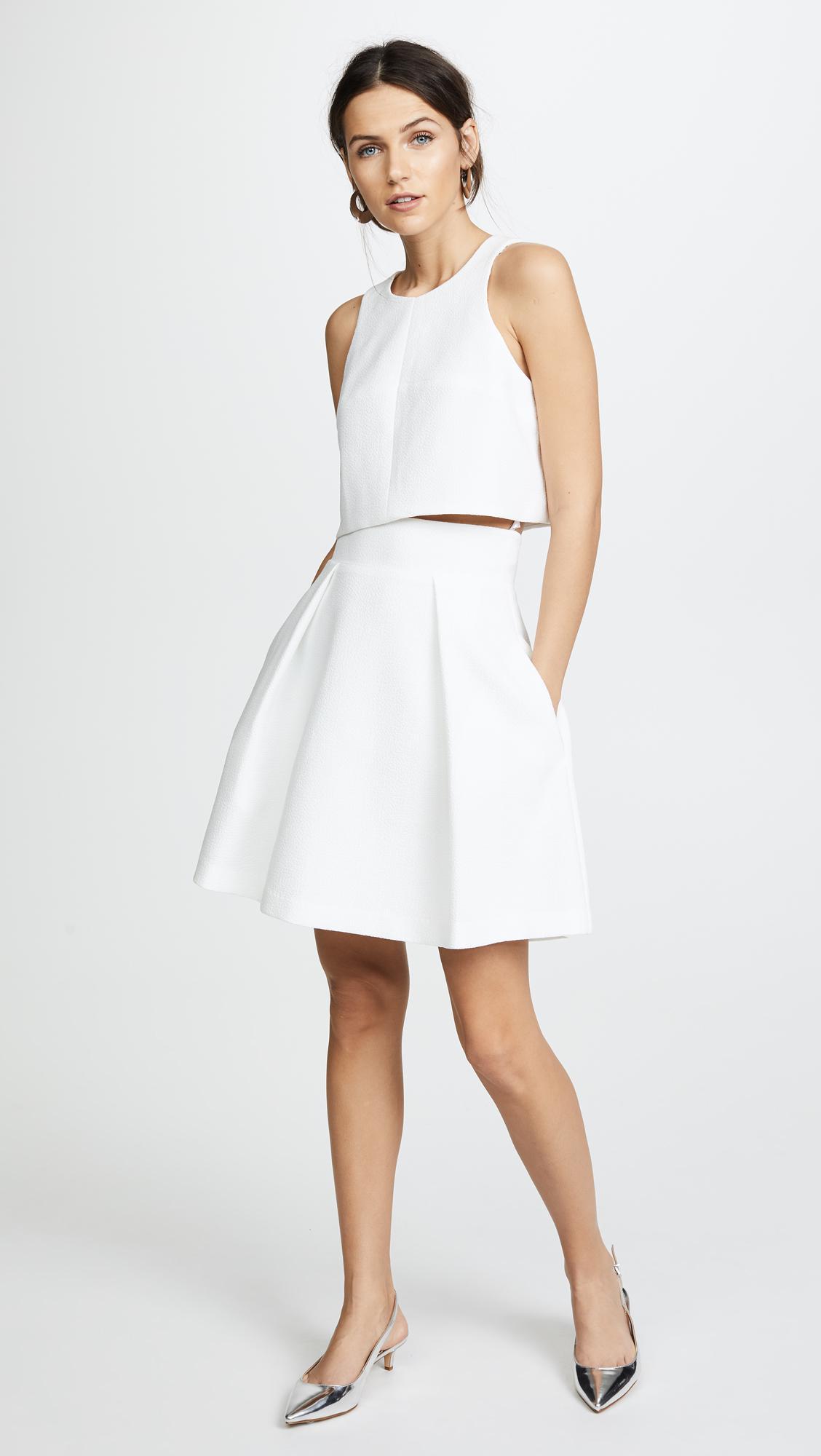 14f394818f7 Black Halo Sanibel 2 Piece Mini Dress in White - Lyst