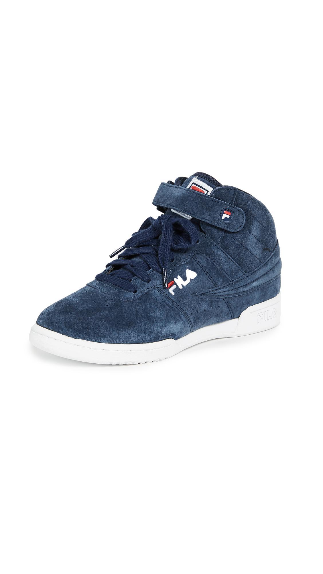 Fila Suede F-13 Sneakers in Blue