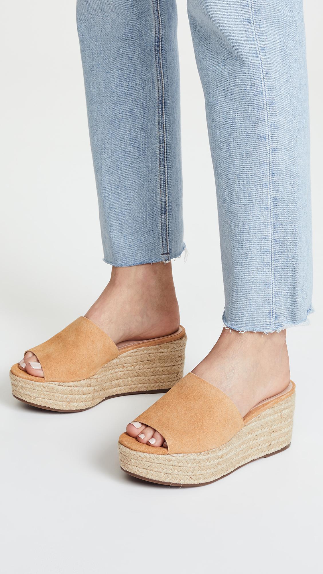466112e1190d1 Schutz Multicolor Thalia Flatform Sandals