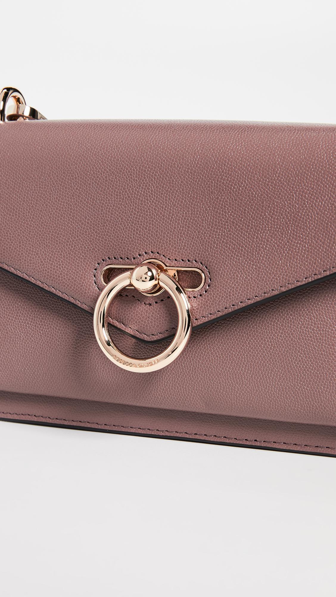 Rebecca Minkoff Leather Jean Crossbody Bag