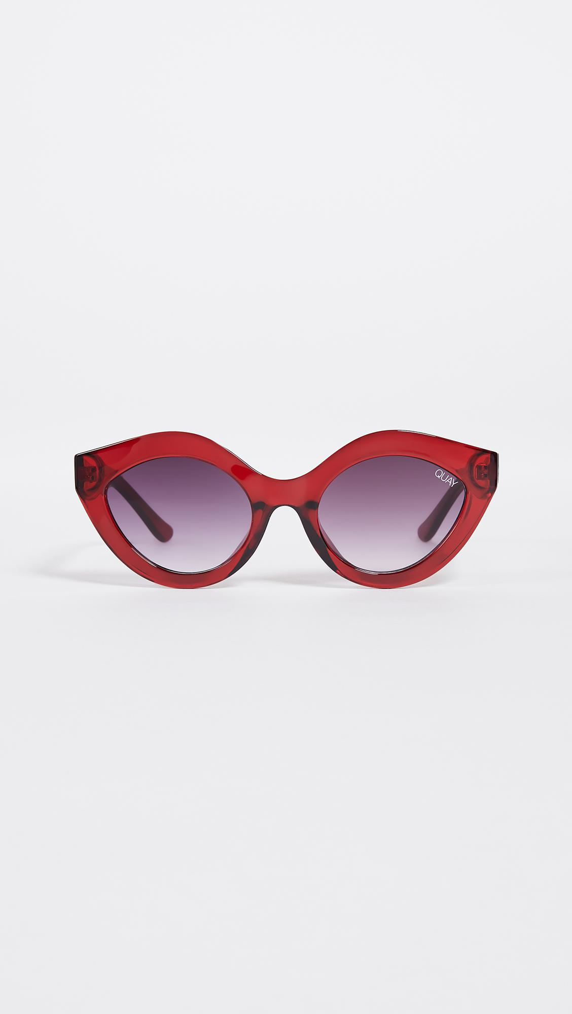 b7664613b8b Lyst quay goodnight kiss sunglasses in red jpg 1128x2000 Quay philippines  elle shades