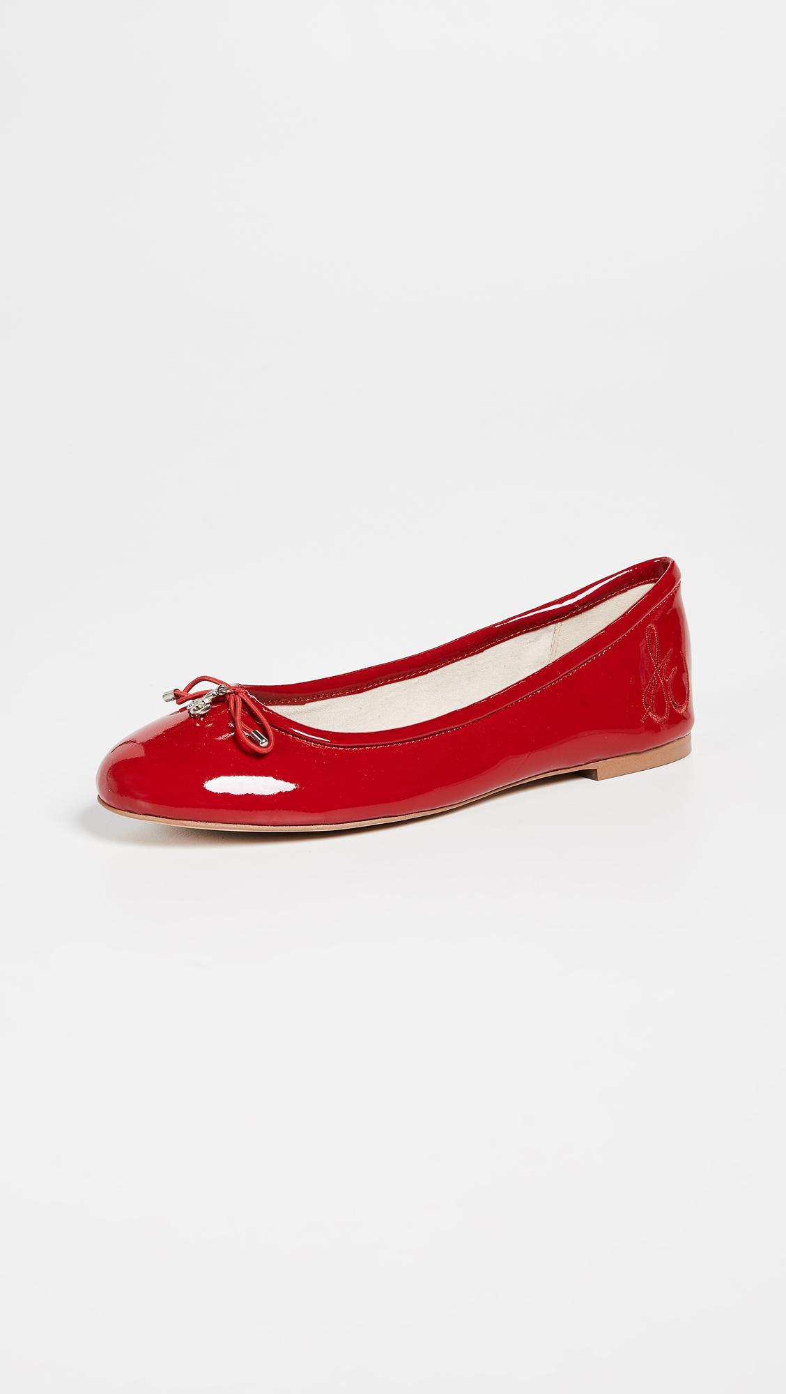 24cb1b4fc Sam Edelman Felicia Ballet Flats in Red - Lyst