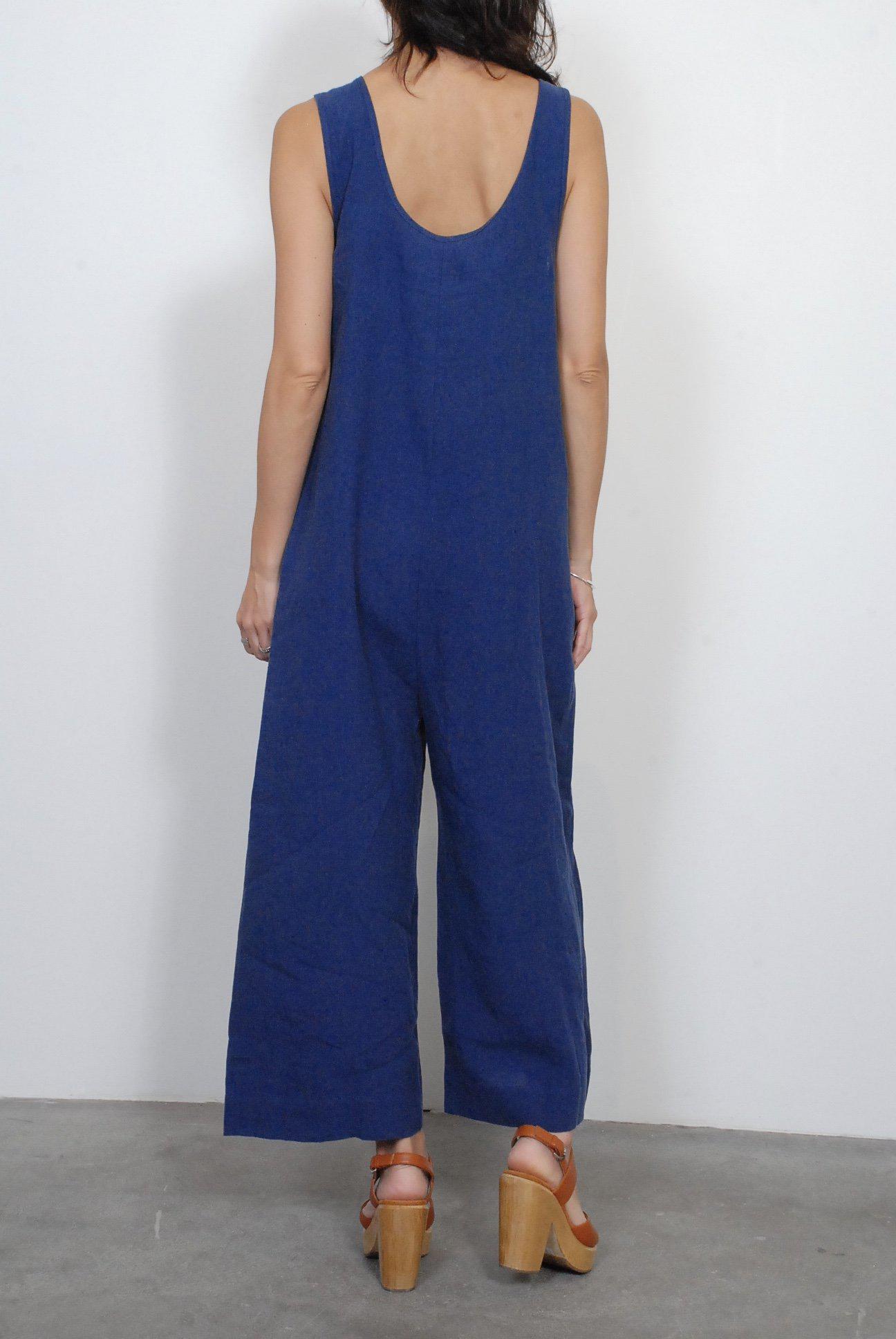 Lyst Ilana Kohn Milo Jumpsuit In Blue