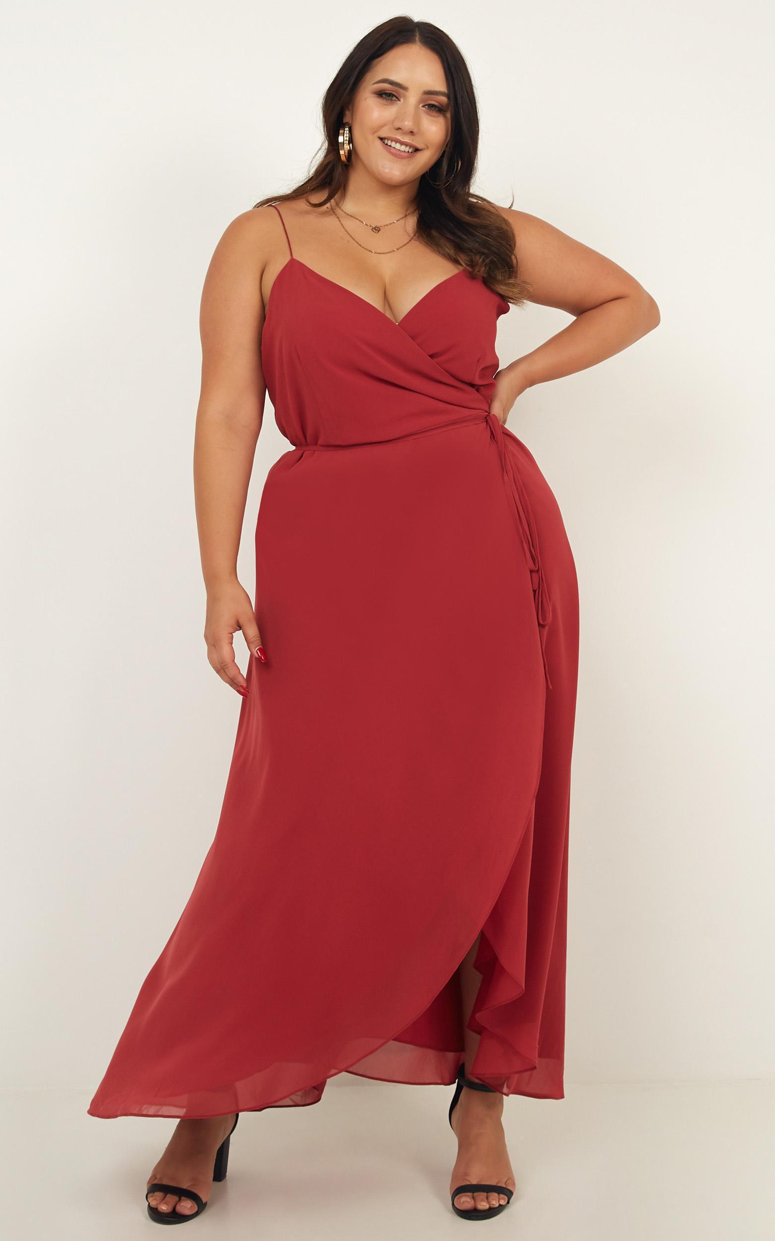 0682812273a Showpo - Red Comeback Season Dress - Lyst. View fullscreen