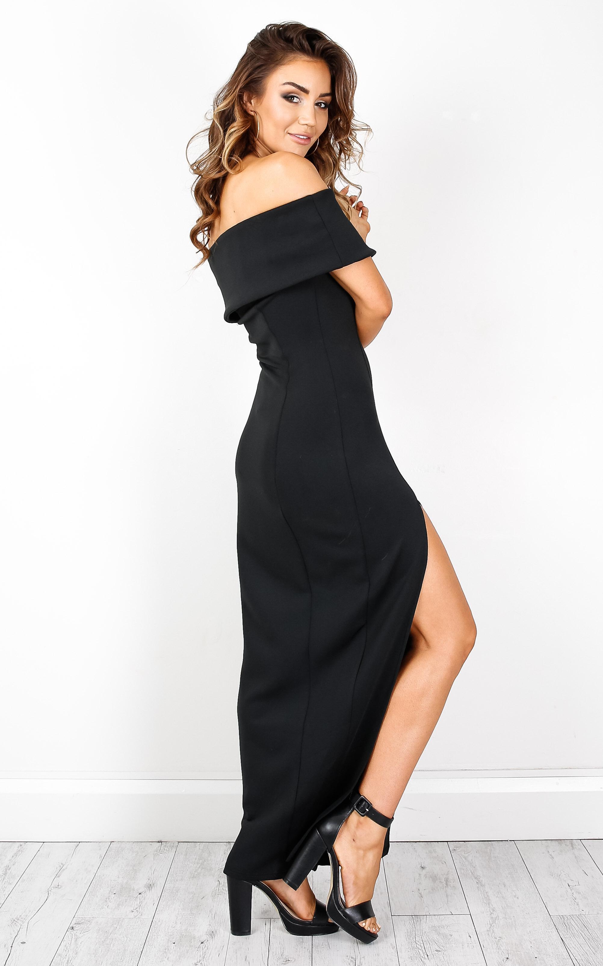 0f06a0848dc Lyst - Showpo Champagne Kisses Dress In Black in Black