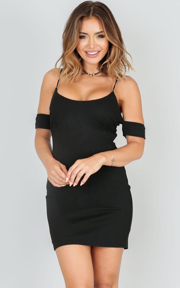 Showpo Bam Baby Dress In Black Lyst