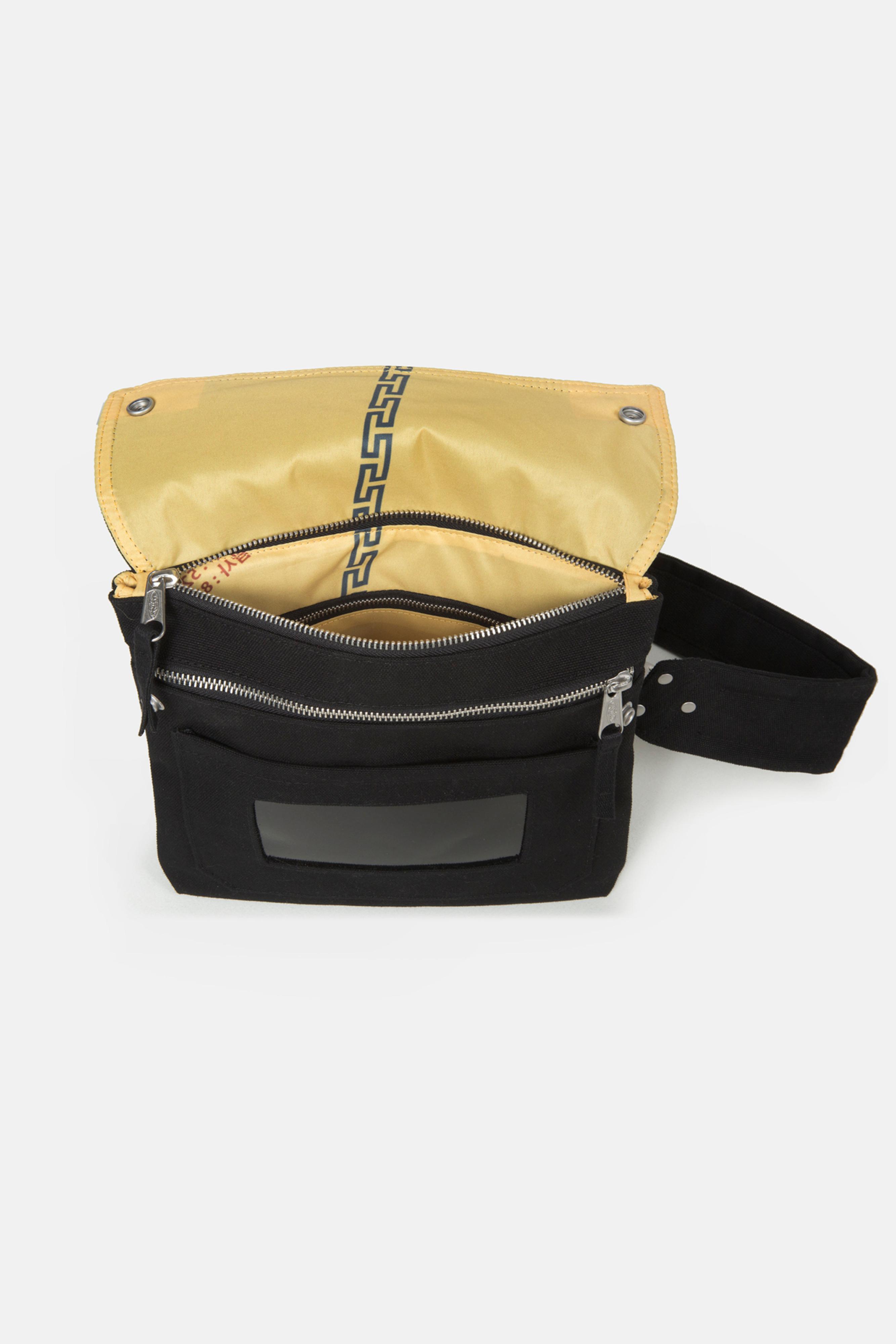 Eastpak Canvas Black Crossover Shoulder Bag
