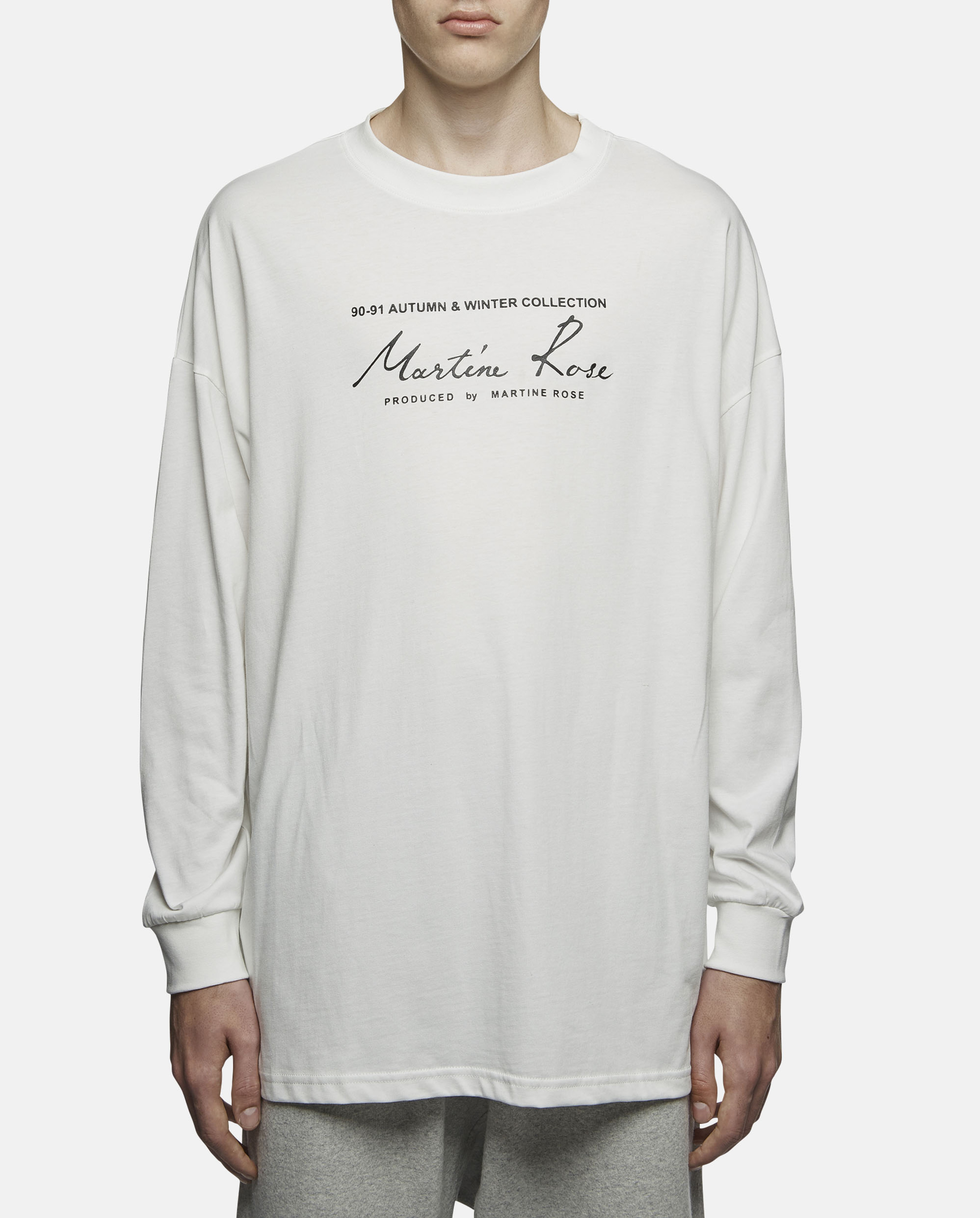 db75f1818 Martine Rose Classic Logo Long Sleeve T-shirt for Men - Lyst