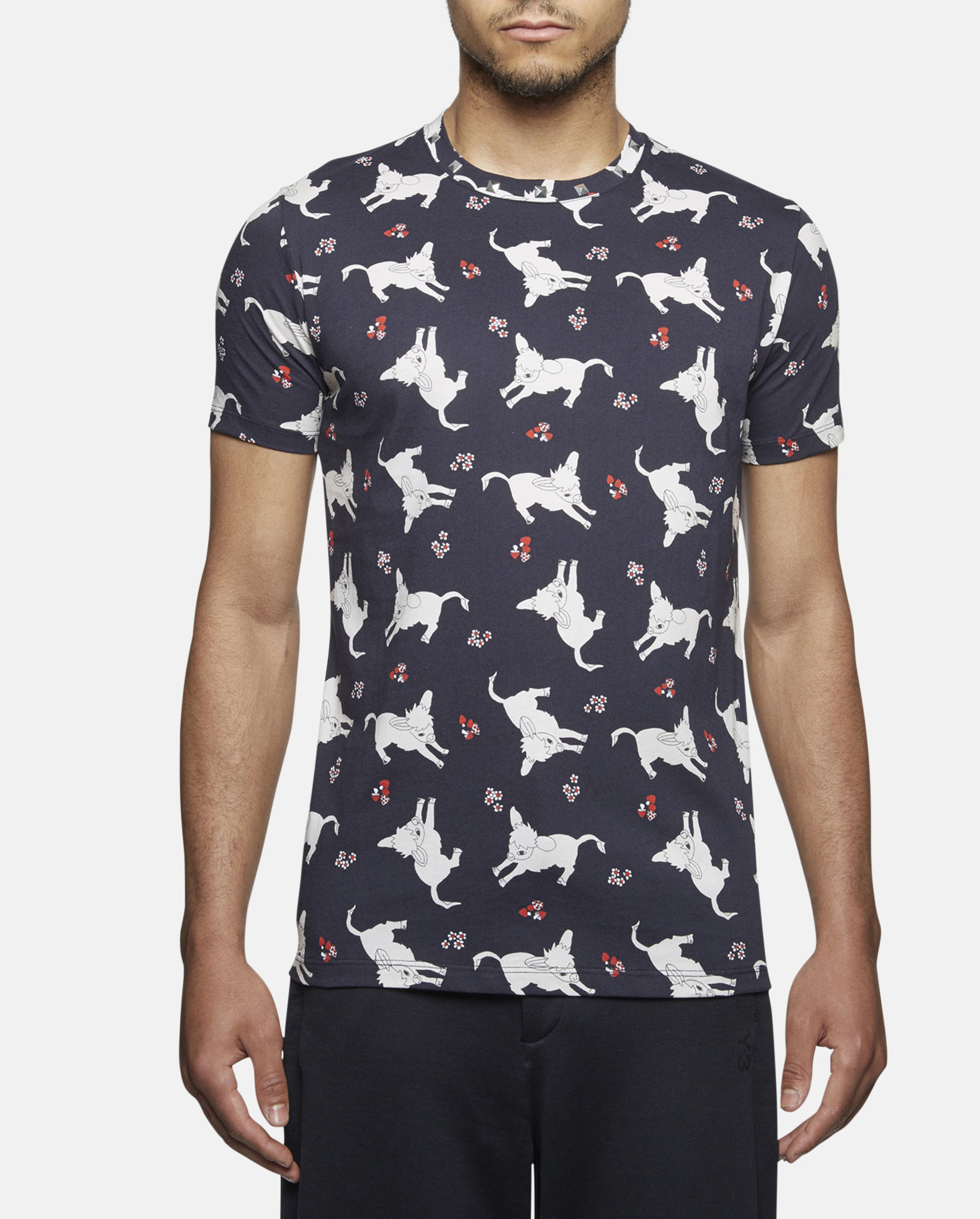j w anderson donkey print t shirt for men lyst