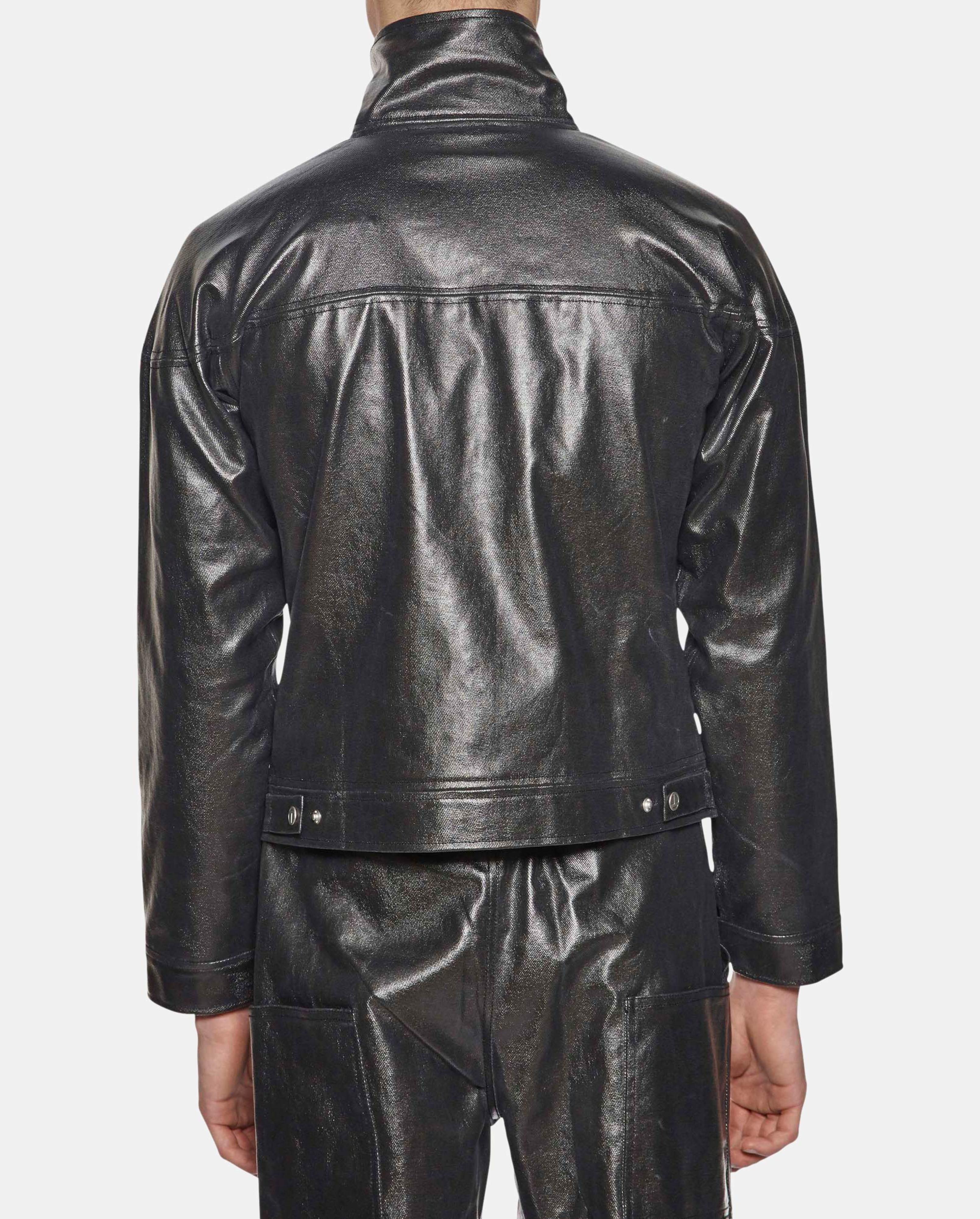 Telfar Drop Shoulder Denim Jacket for Men